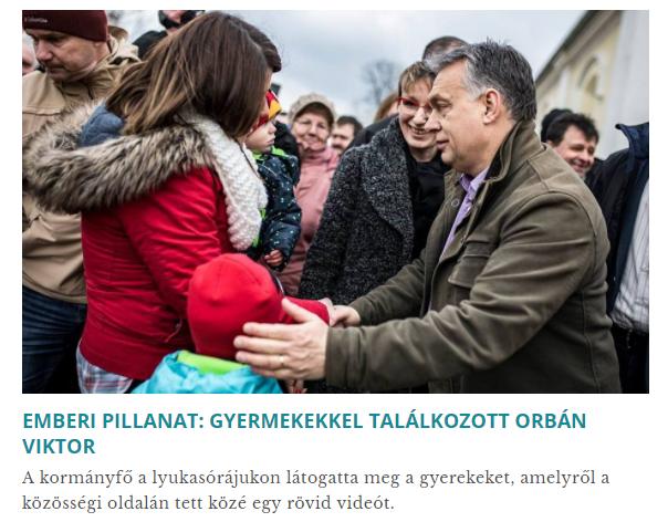 A szülők megkérdezése nélkül rakták rá az ovisokat Orbán Viktor facebookos kampányvideójára