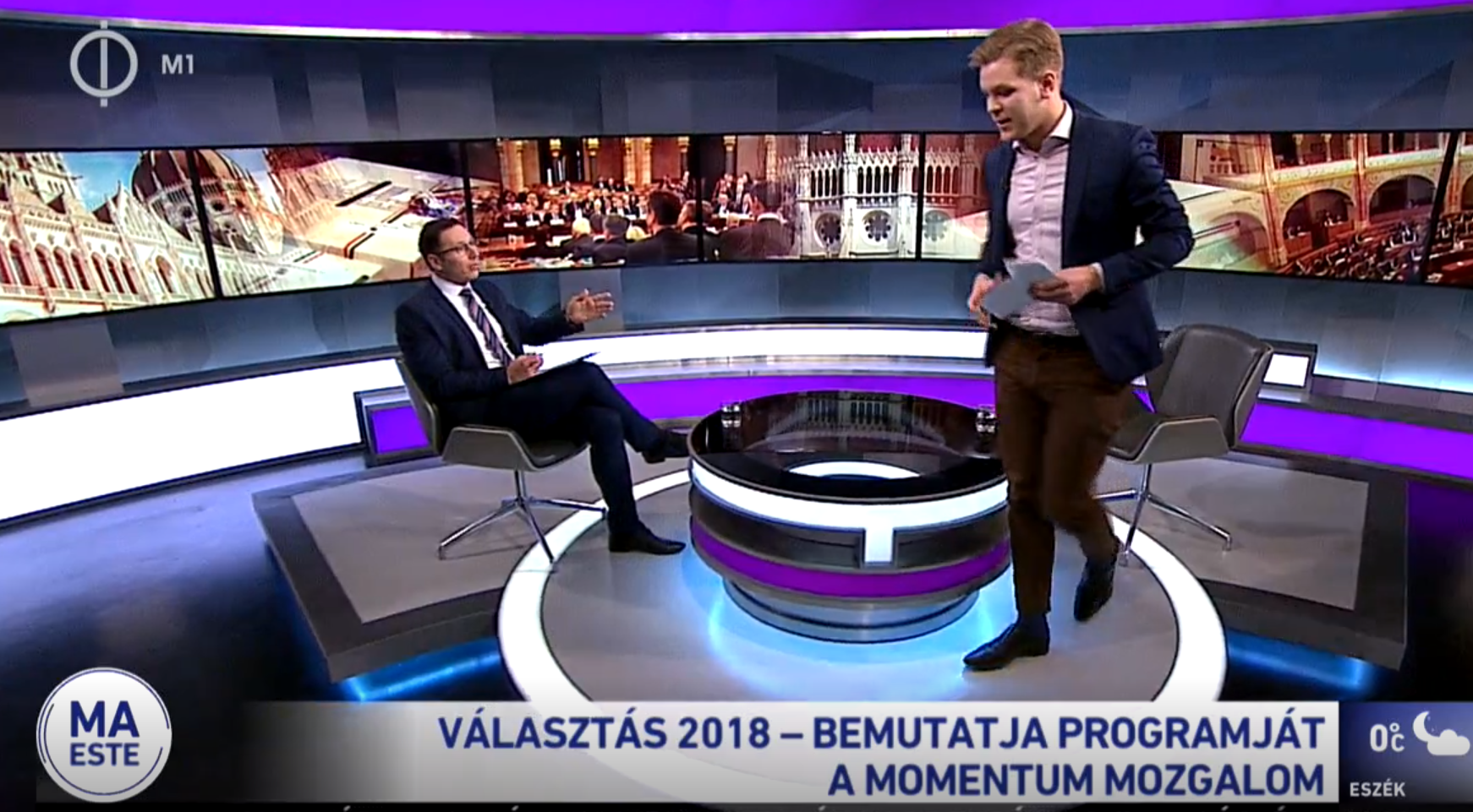 A Momentum is megkapta a maga öt percét az MTVA-ban: Orbán Ráhelről, Tiborczról és Kósa Lajosról kérdezték Orbán Viktort