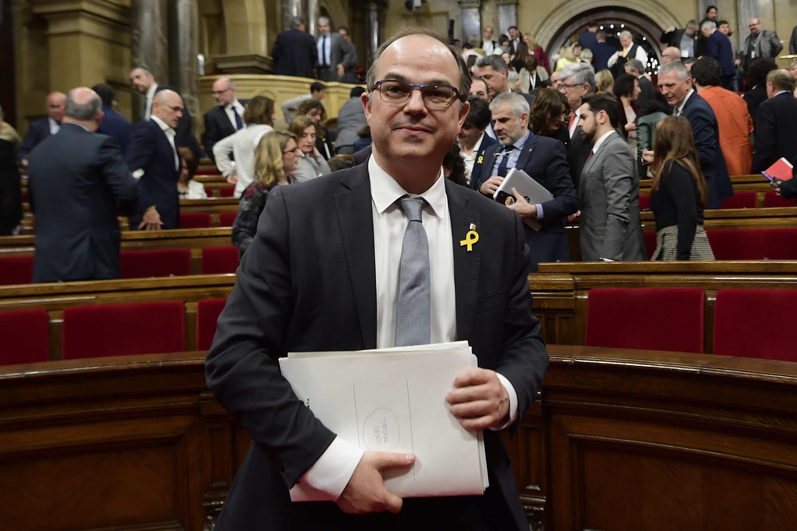 A katalán parlament nem választotta meg Jordi Turullt Katalónia elnökévé