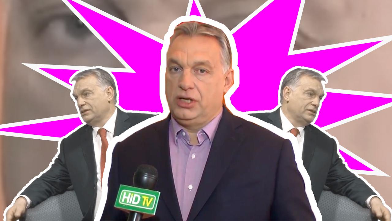 Orbán kimerészkedett a kormánymédia falai közül, és alig bírja tartani a tempót a kérdésekkel