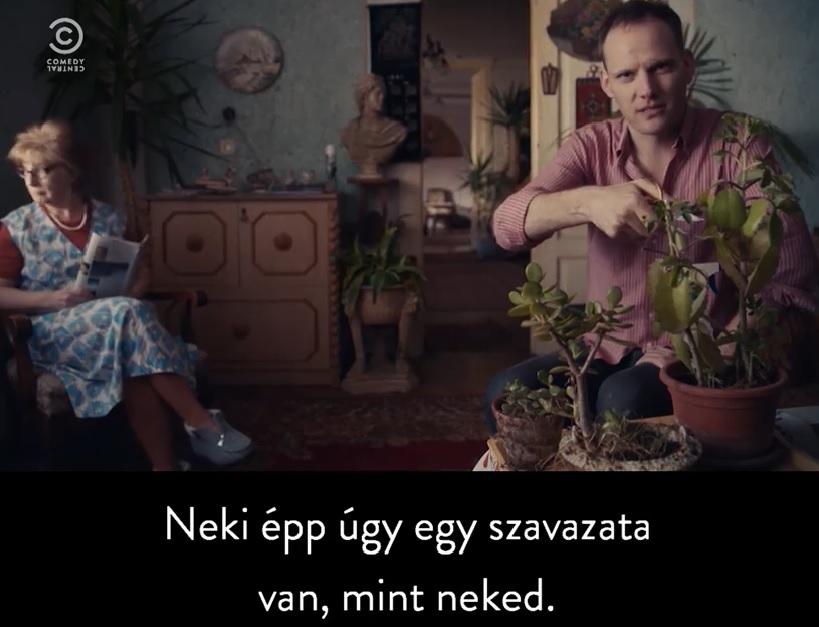 Tibi atya nekiment Bödőcsnek és az egész Comedy Centralnak
