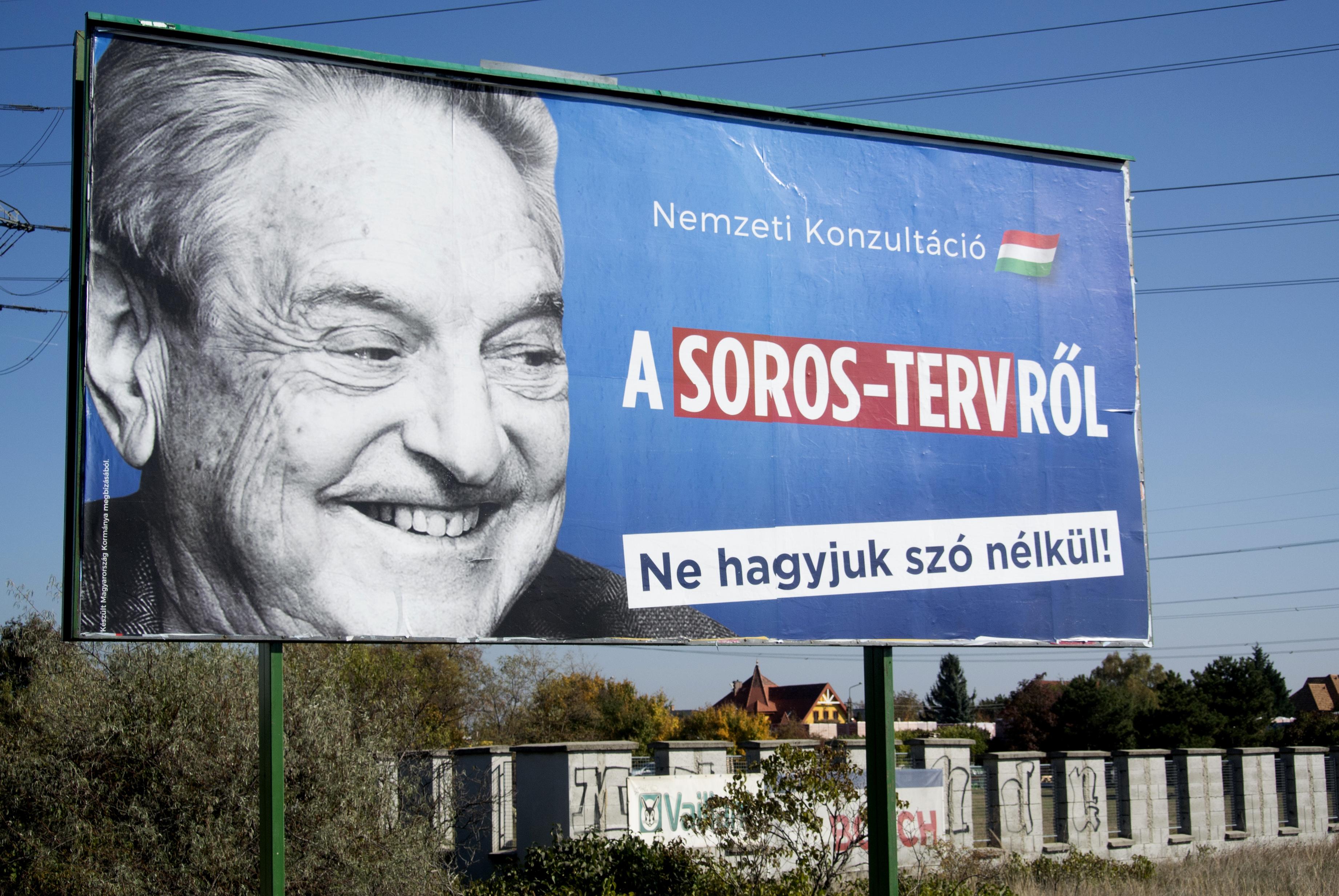 Lehetséges, hogy Magyarországnak nincs szüksége amerikai tanácsadókra, hogy felkorbácsolják a Soros-ellenes antiszemita indulatokat