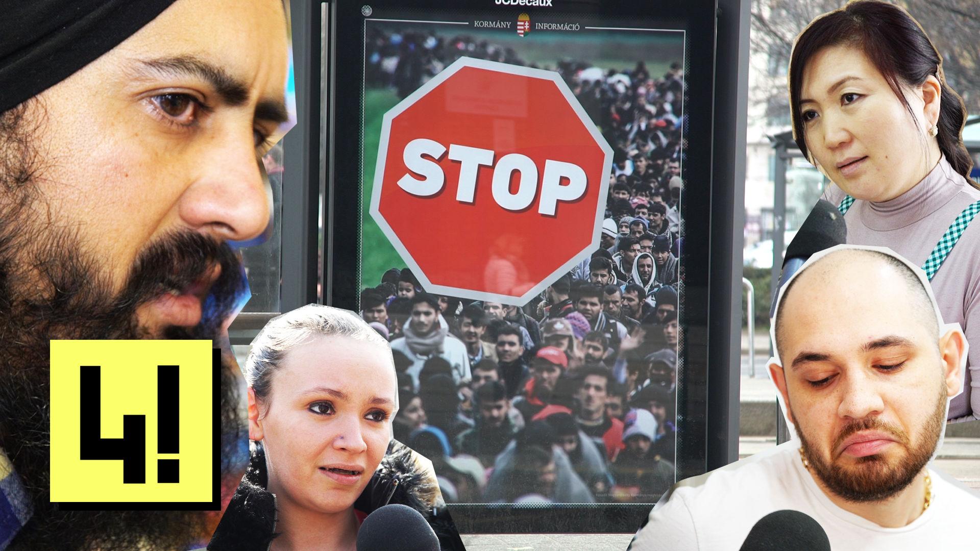 Stop-plakát: akkor ez ilyen rasszista típusú?