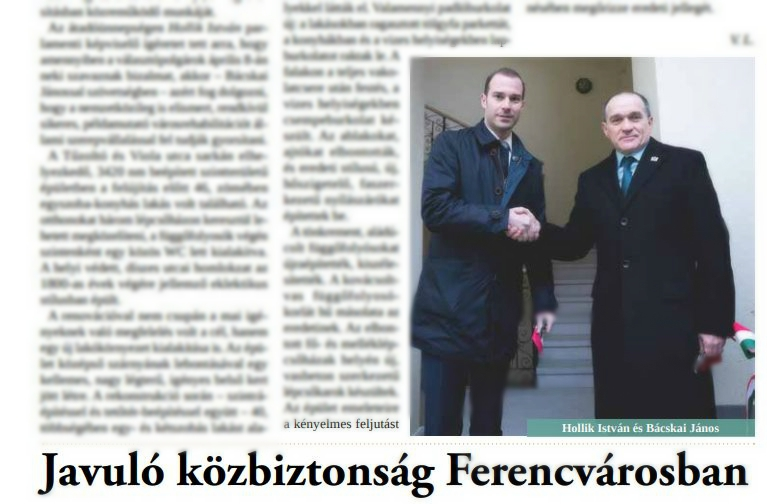 Annyira tolták Hollikot az önkormányzati lapban, hogy Ferencvárosnak 1,4 milliós bírságot kell fizetnie