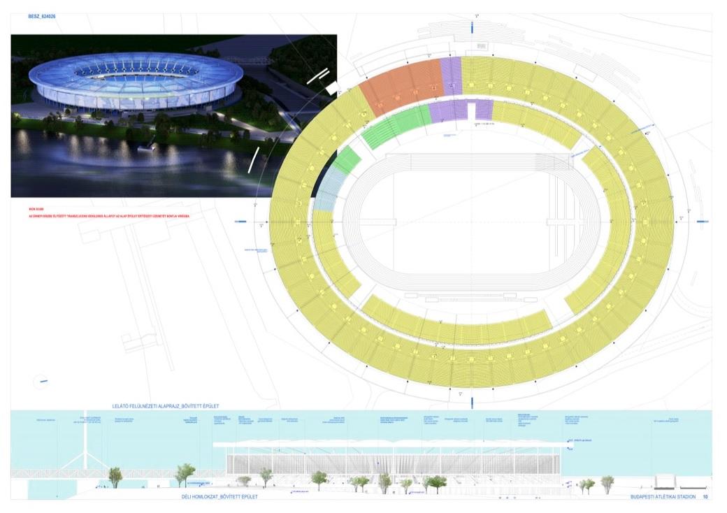 Csak a tervezése 4,7 milliárdba kerül a Budapesti Atlétikai Stadionnak, amit még az olimpiára szántak, de anélkül is felépítenek