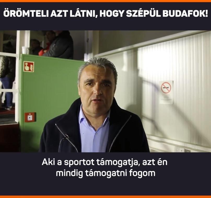 Pintér Attila a fideszes jelöltet támogatja Budafokon
