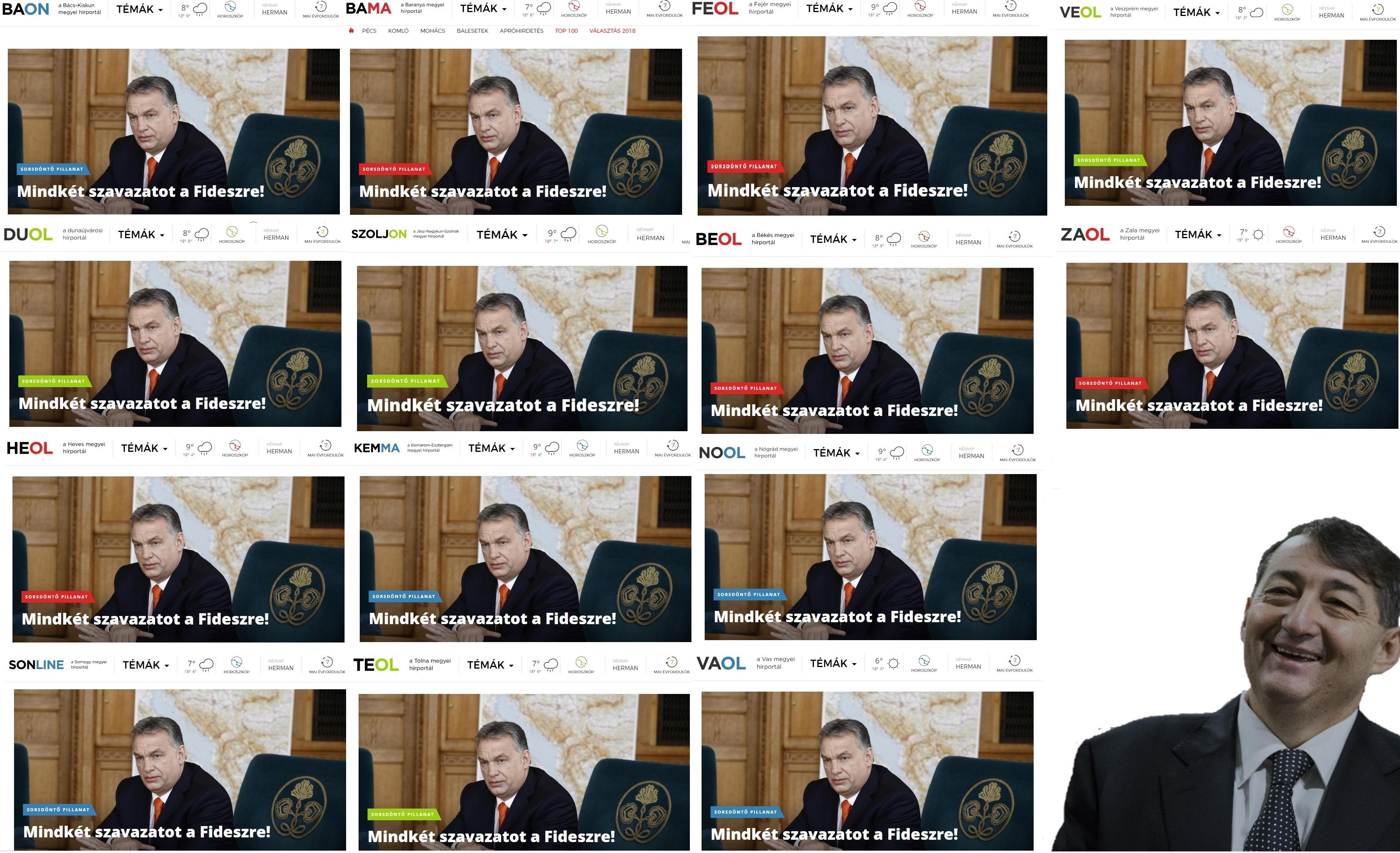 Orbán azt mondja, miközben ő a szabadság oldalán áll, a liberálisok a véleményhegemóniáén