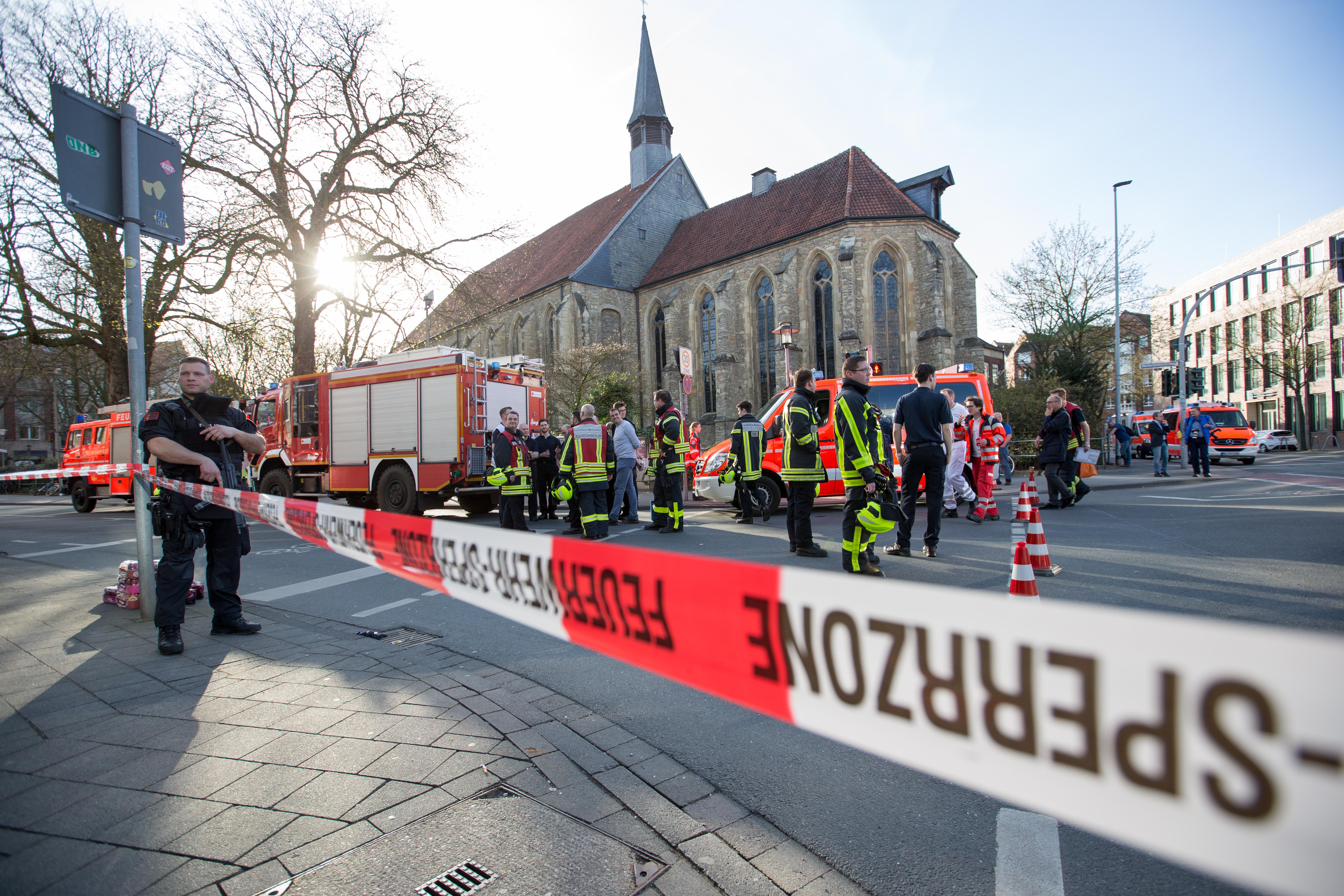 Pszichés problémákkal küzdő német férfi gázolt Münsterben
