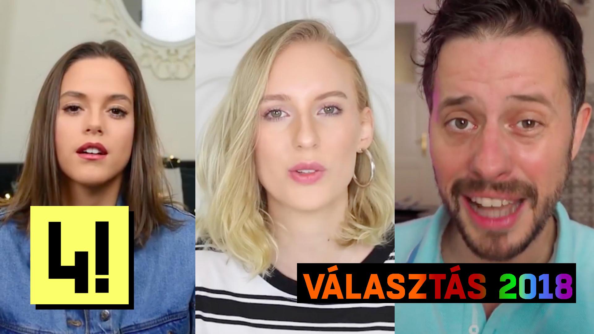 A magyar YouTube állóvizét is felkavarták a 2018-as választások