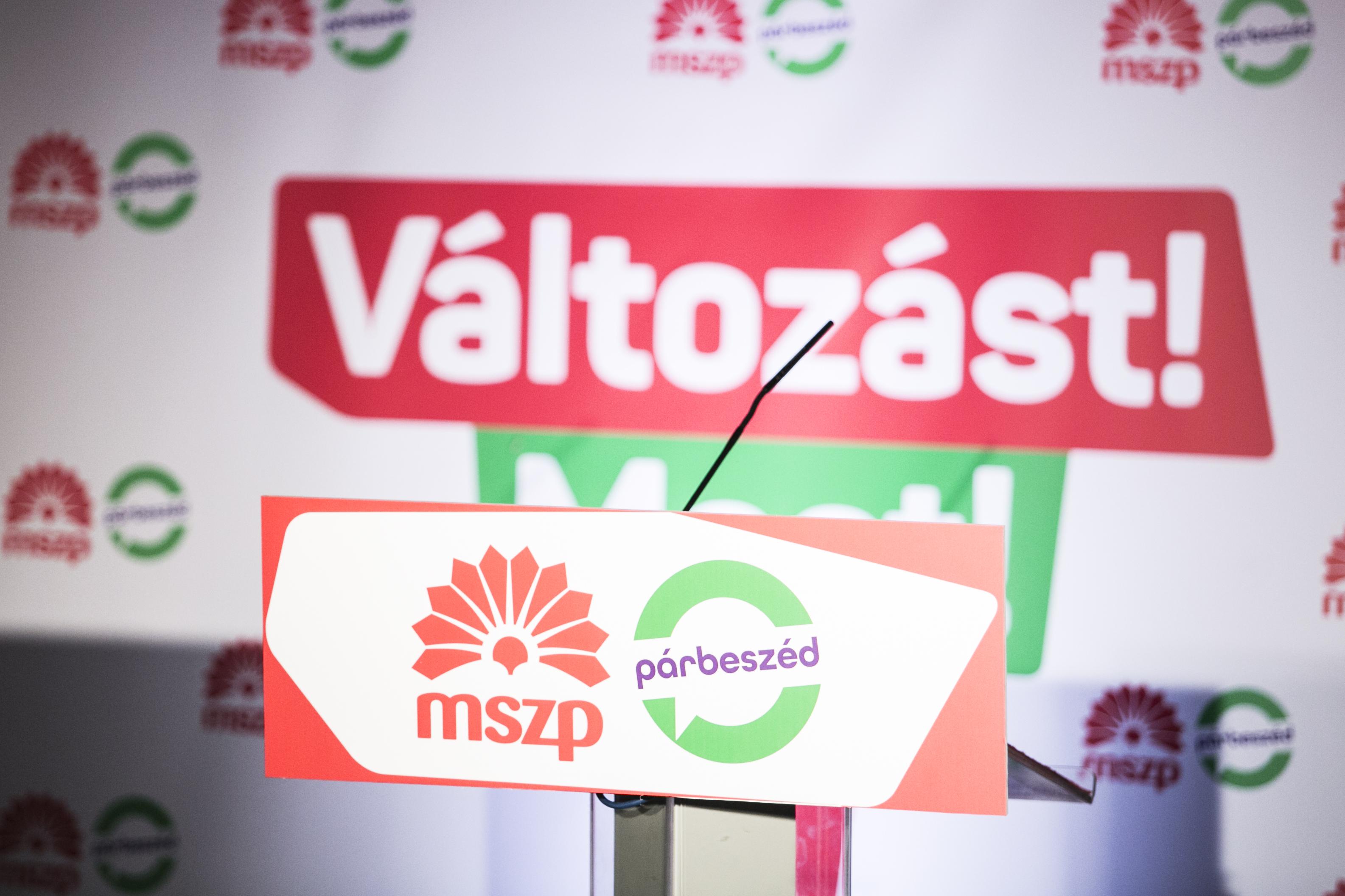 Együtt indul az EP-választáson az MSZP és a Párbeszéd