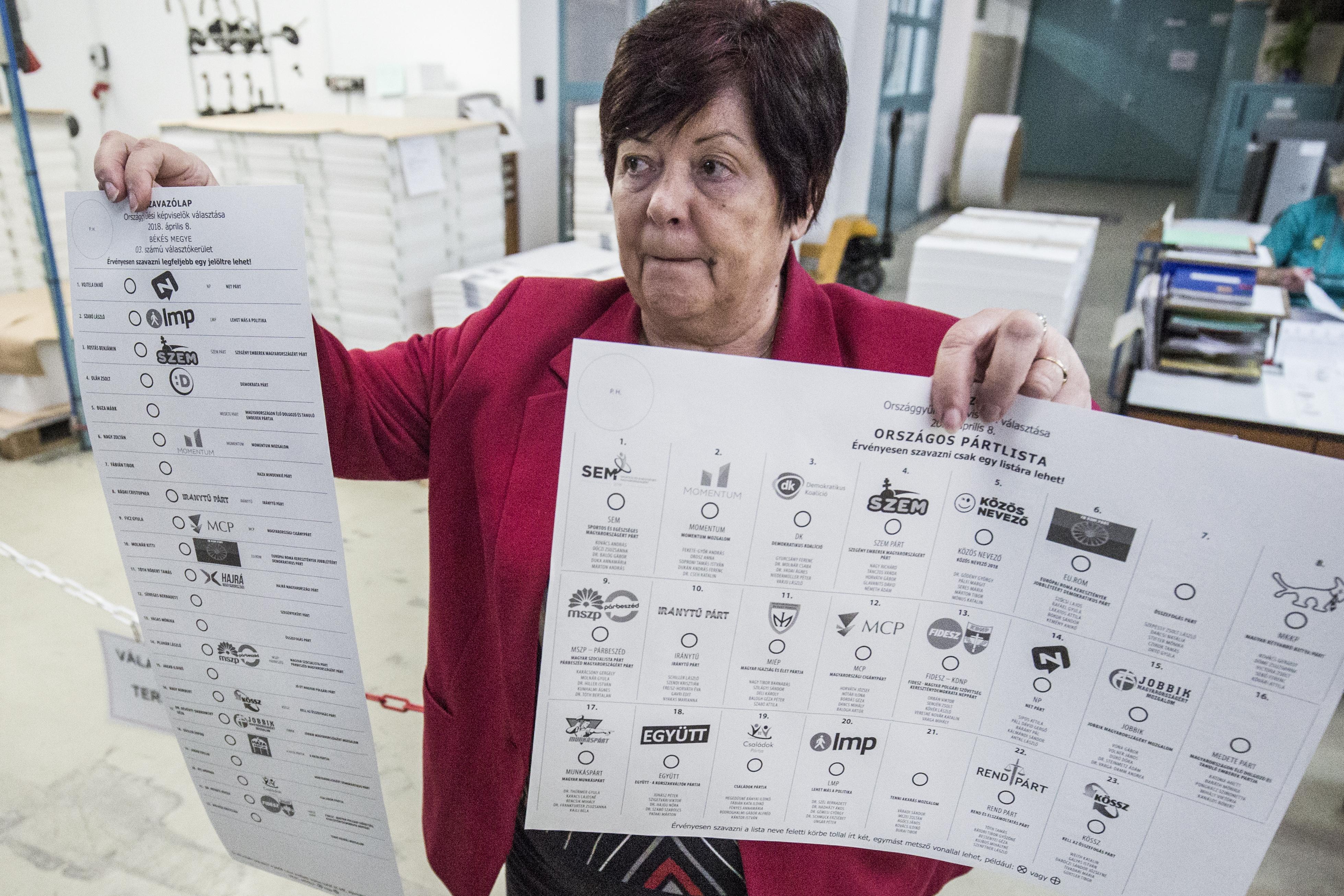 Begyakorolta a jövő vasárnapi szavazás feladatait a választási apparátus