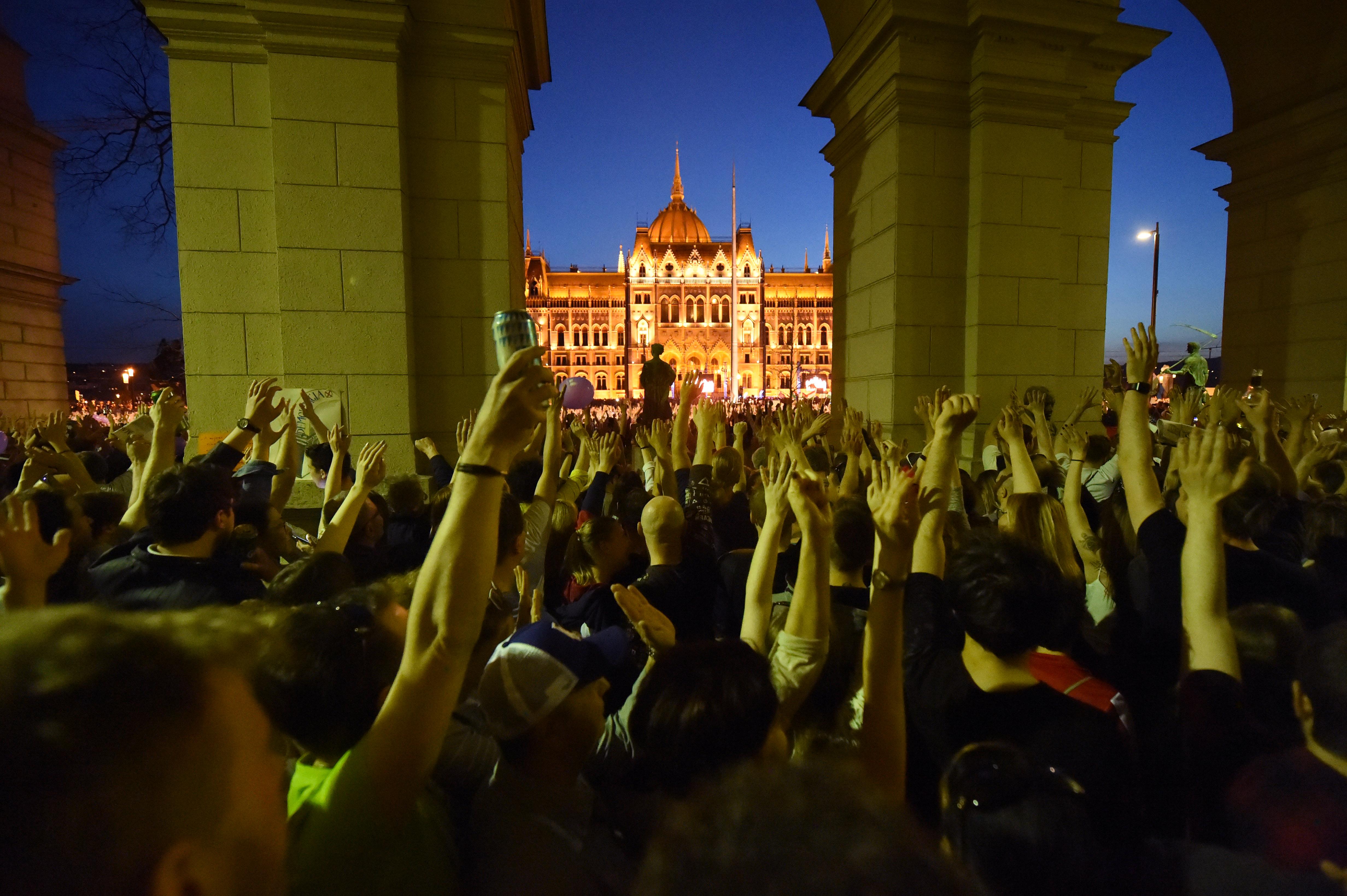 A szervezők szerint már a következő tüntetés költsége is összejött