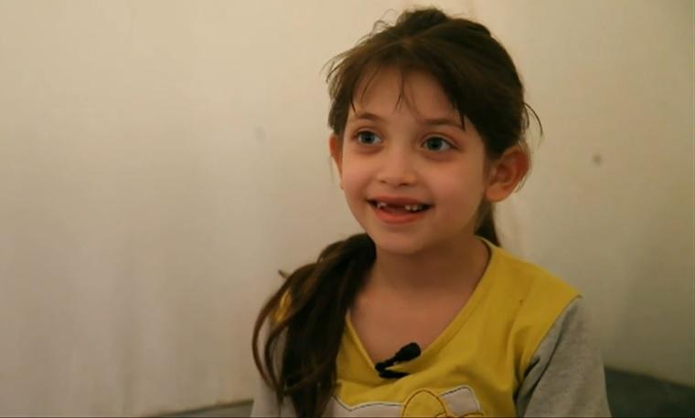 Egy 7 éves kislány elmesélte, milyen volt a dúmai vegyifegyver-támadás