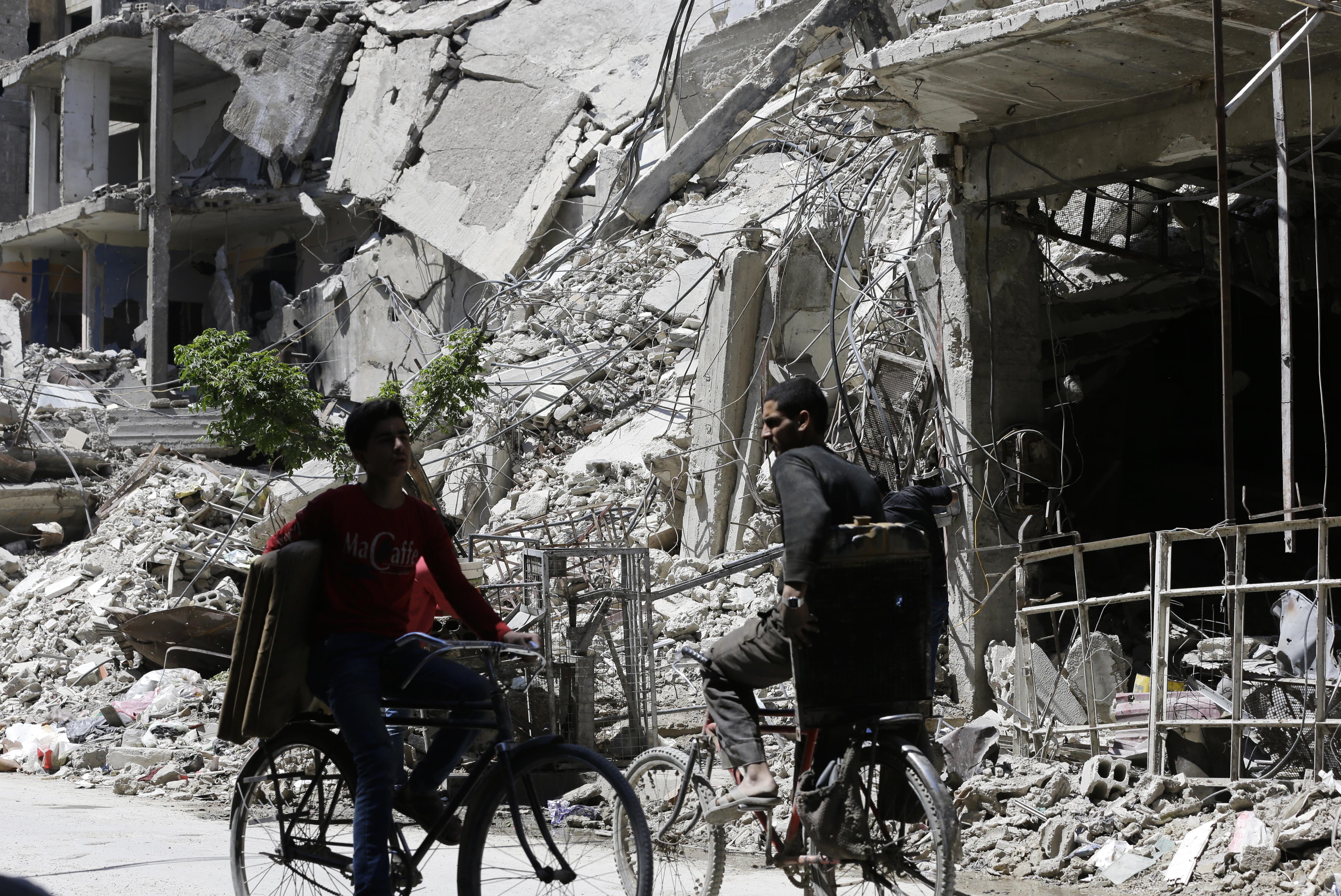 Szíria: Meg lehet vizsgálni a vegyifegyver-támadás helyszínét, de fogytán a türelem