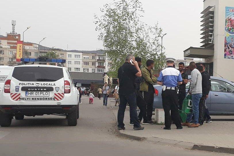 Izraeli motorosok okoztak riadalmat Székelyudvarhelyen