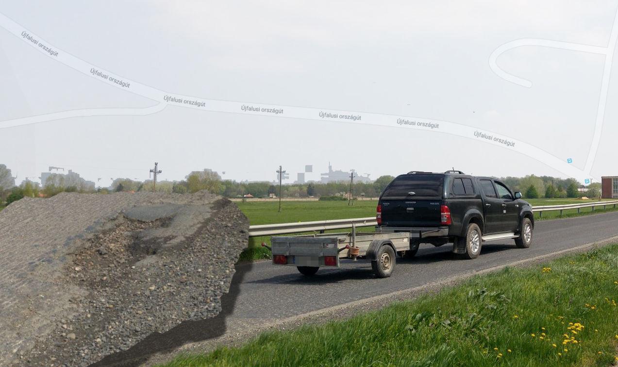 Sok volt a baleset, jött is a megoldás: felmarták az utat és úgy hagyták