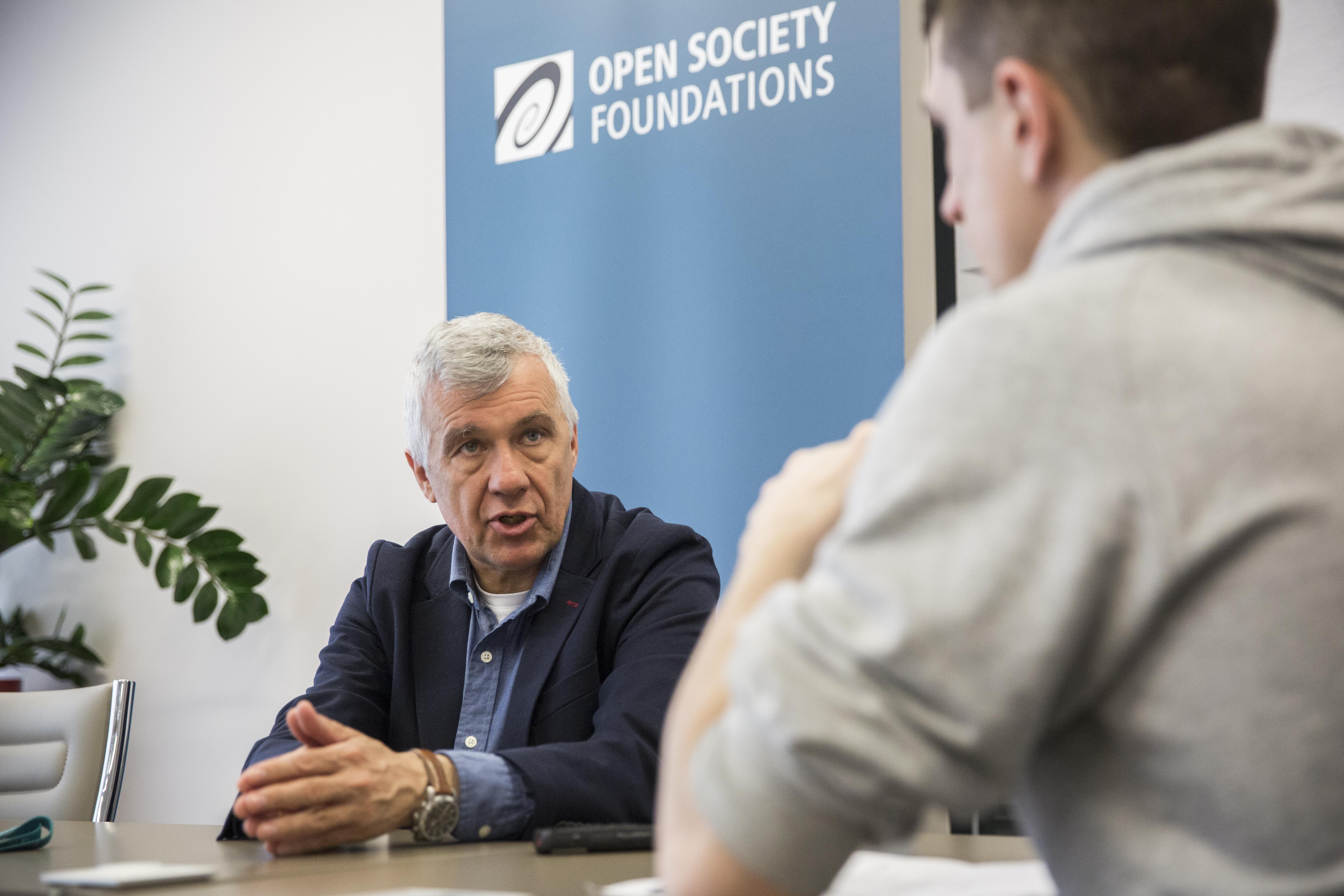 Open Society: A kollégáink ellenségnek lettek kikiáltva, fenyegető a légkör