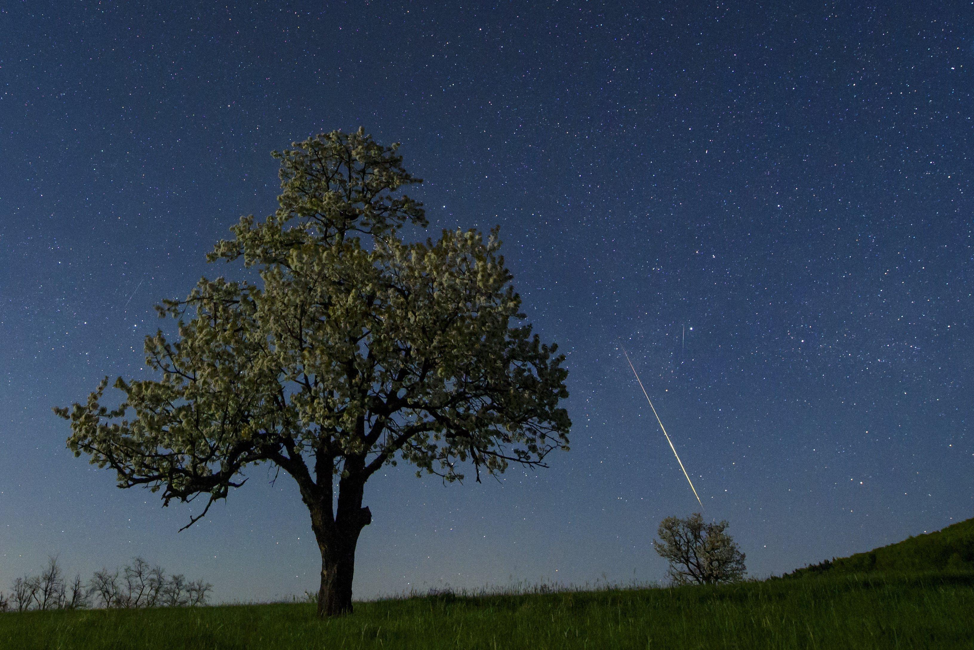 Meteorok szántották az eget Nógrádban