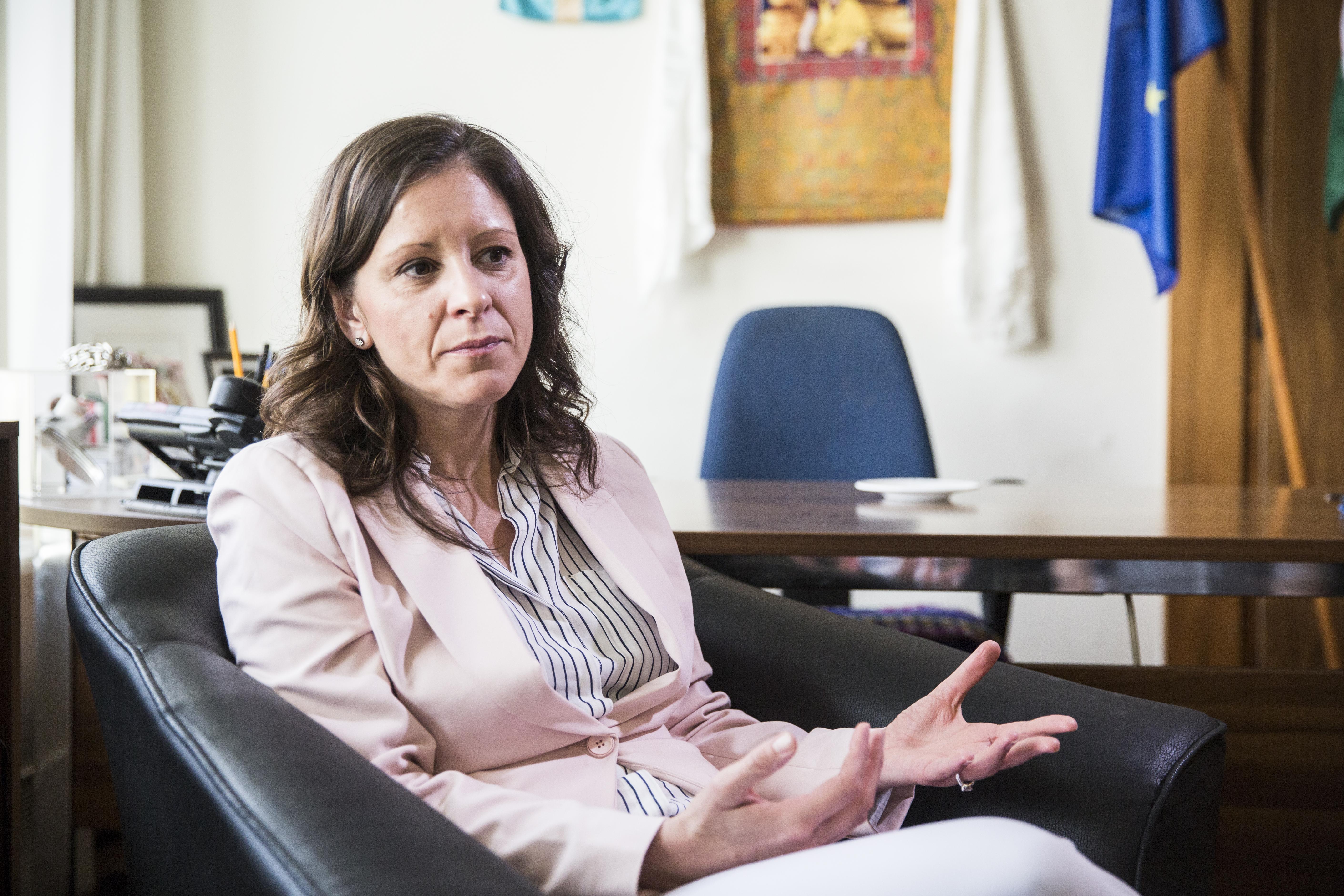 Ilyen nincs: az LMP Szél Bernadettet is eltiltotta a tisztségviseléstől