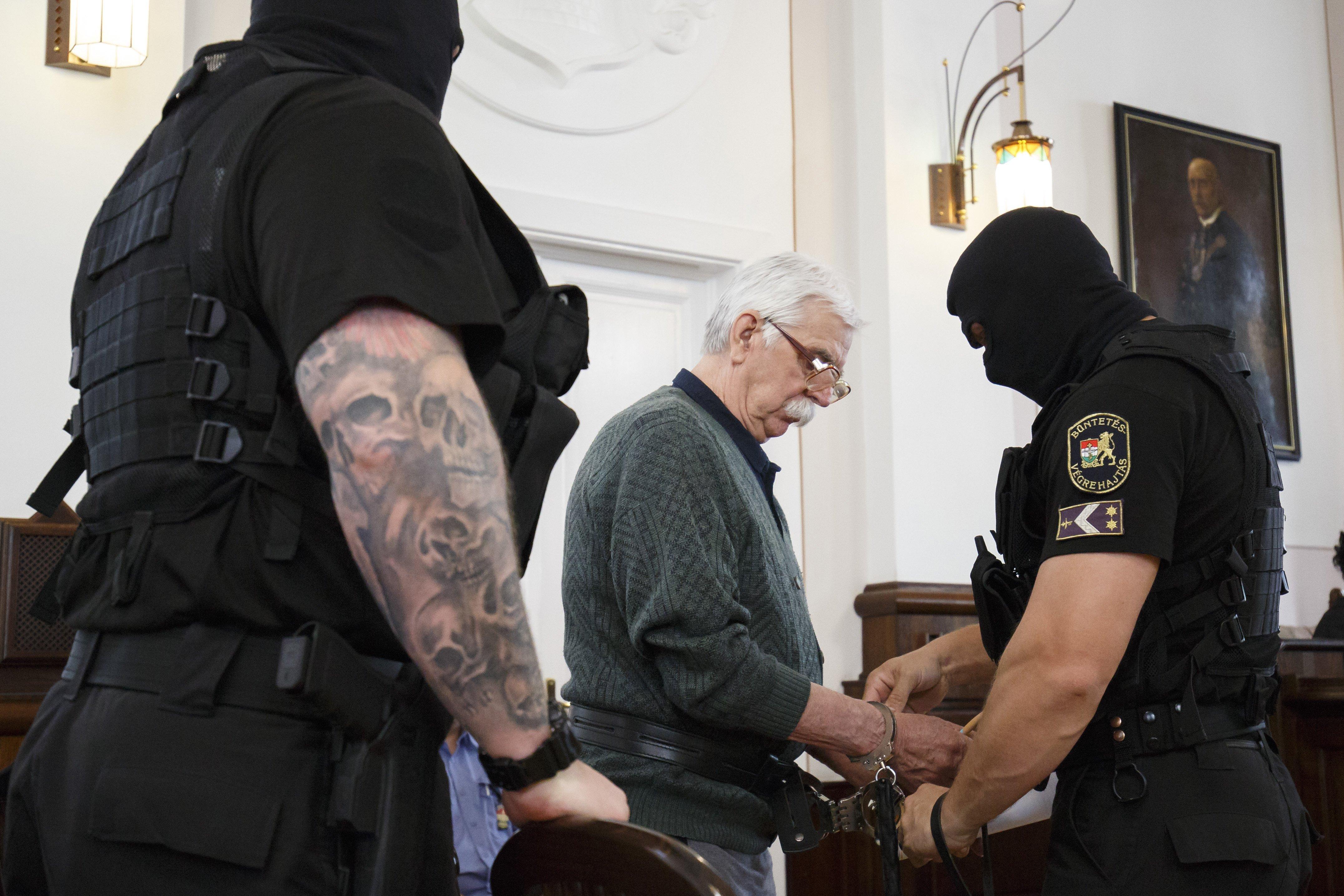Életfogytig tartó fegyházra ítélték Győrkös Istvánt, amiért fejbe lőtt egy rendőrt