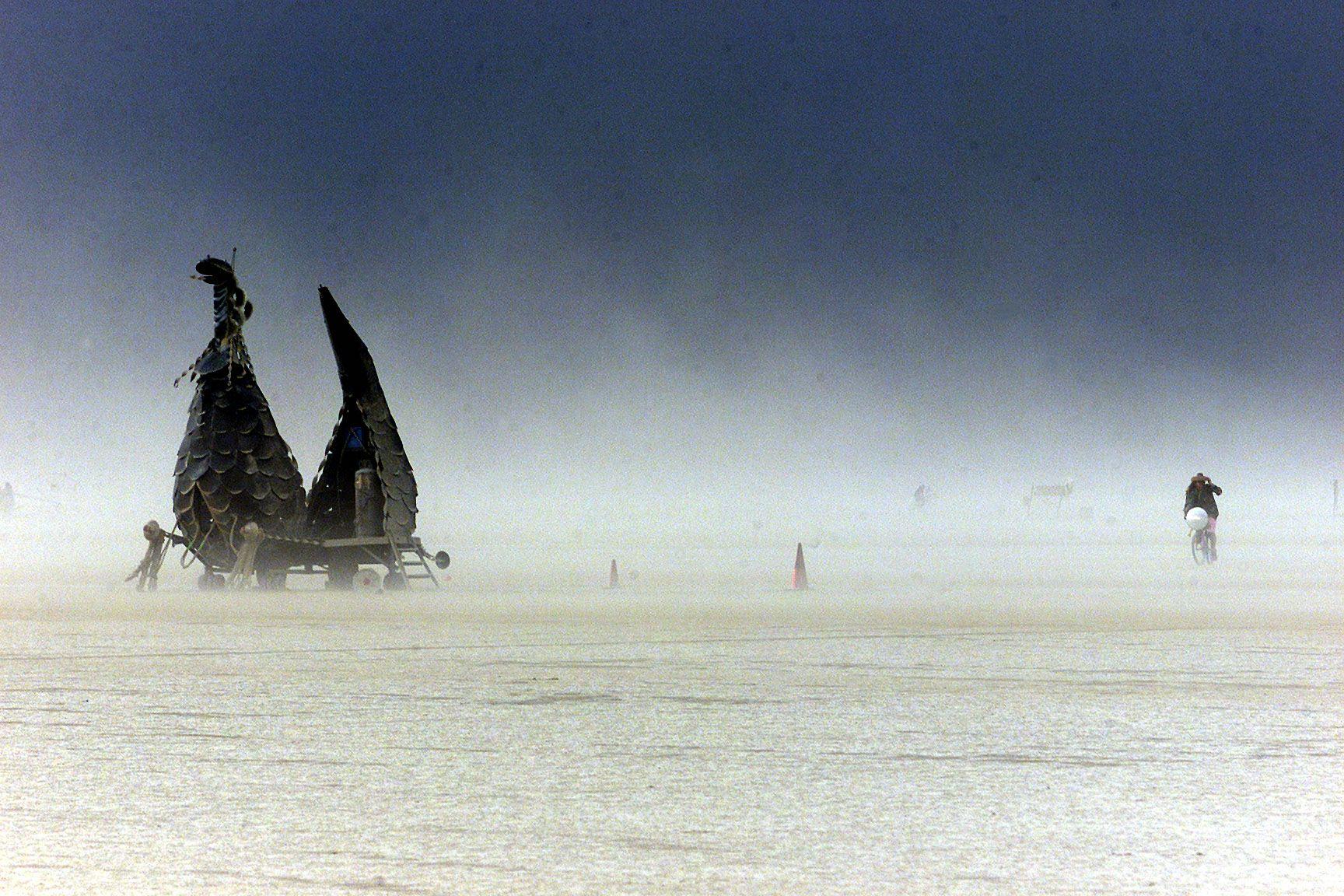 Idén is elmarad a Burning Man fesztivál