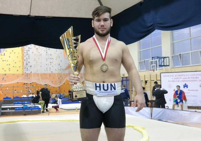A 17 éves Szilágyi Erik négy bronzérmet szerzett a szumó Eb-n