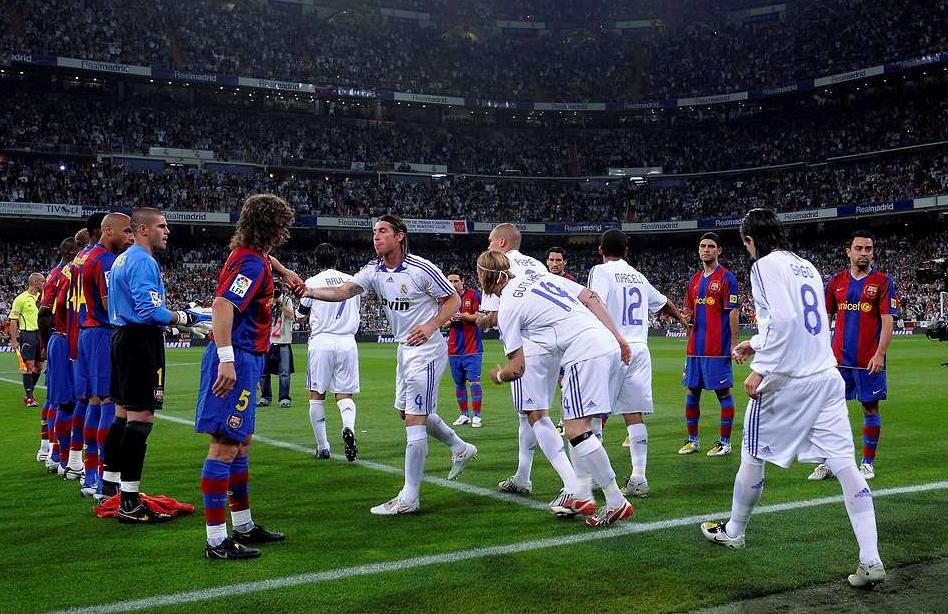 Nem gratulál a Real Madrid a bajnok Barcelonának a Camp Nouban
