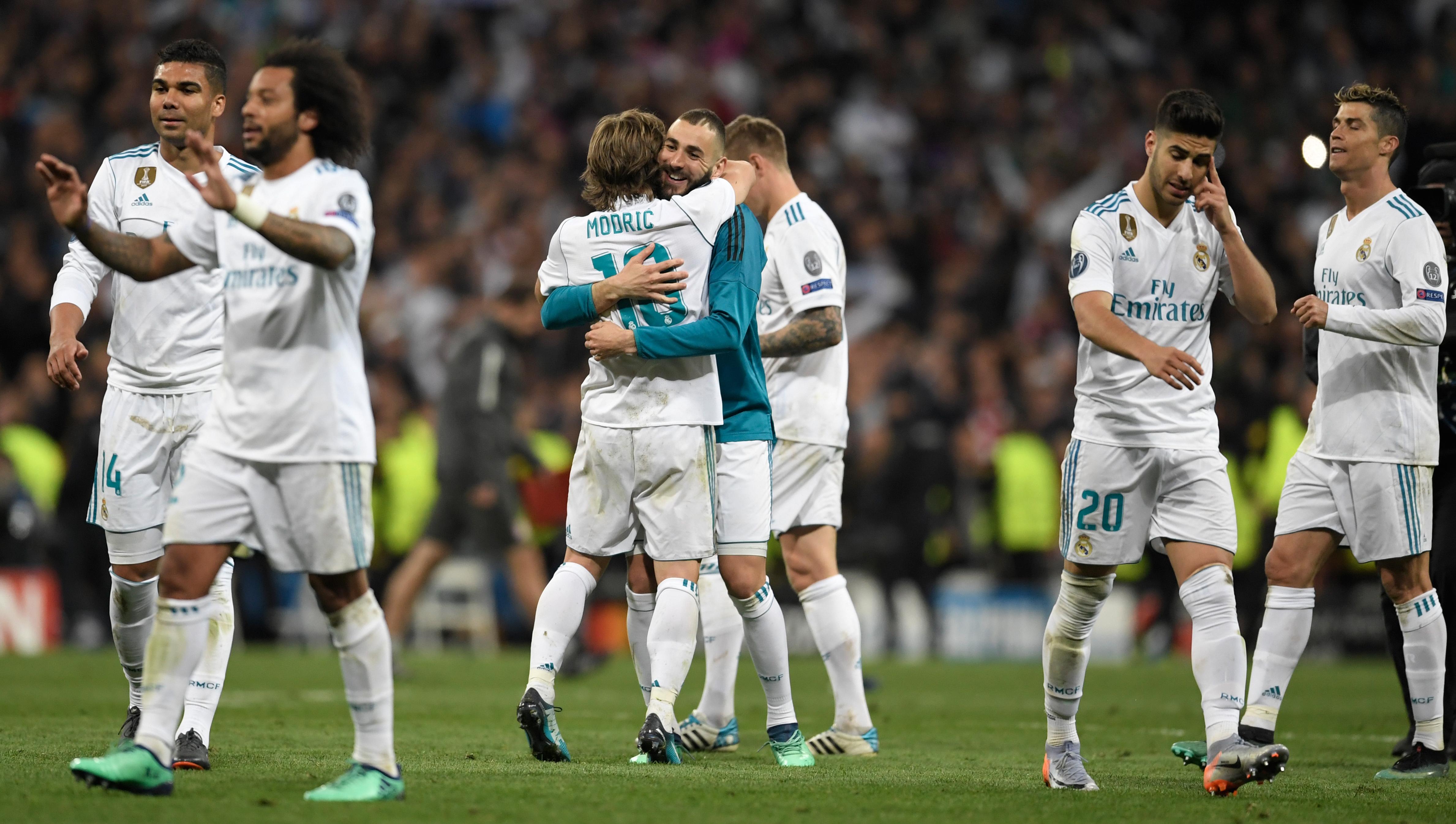 """Ismét """"szerencsés"""" bírói ítéletekkel jutott tovább a Real Madrid"""
