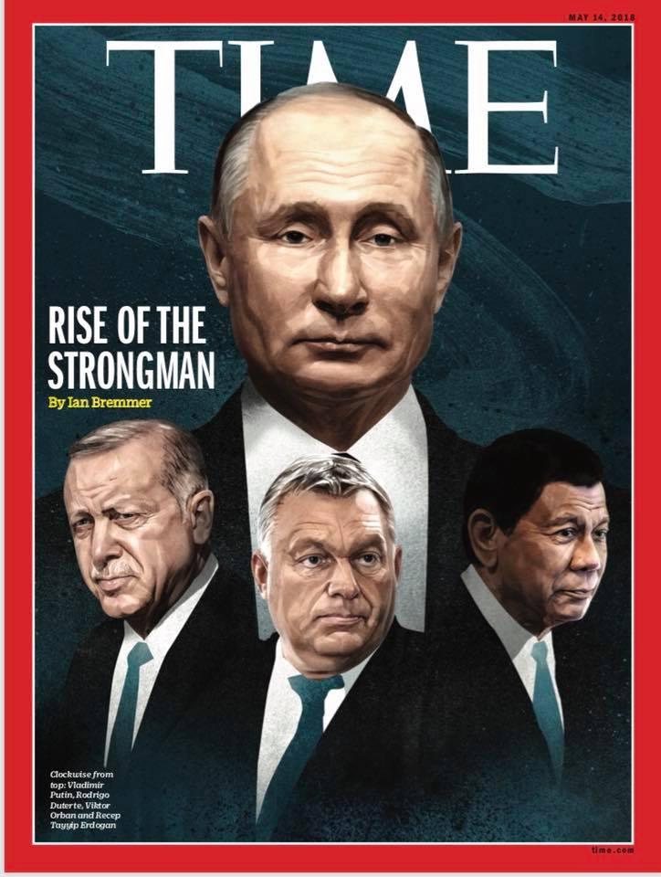 Orbán Viktor a legnagyobb hatalmú diktátorok oldalán mászott fel a Time egyik címoldalára