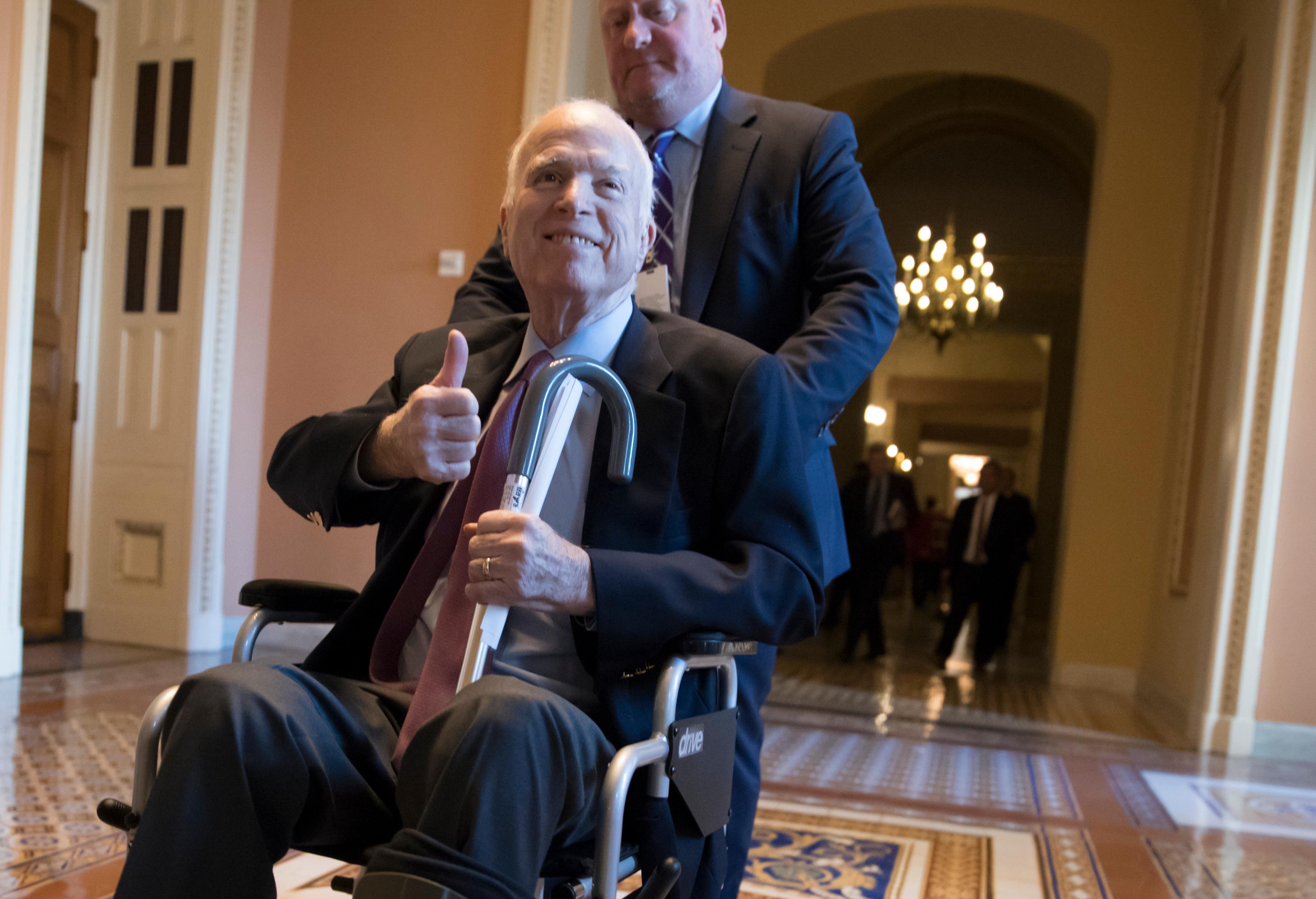 John McCain nem szeretné, hogy Trump ott legyen a temetésén