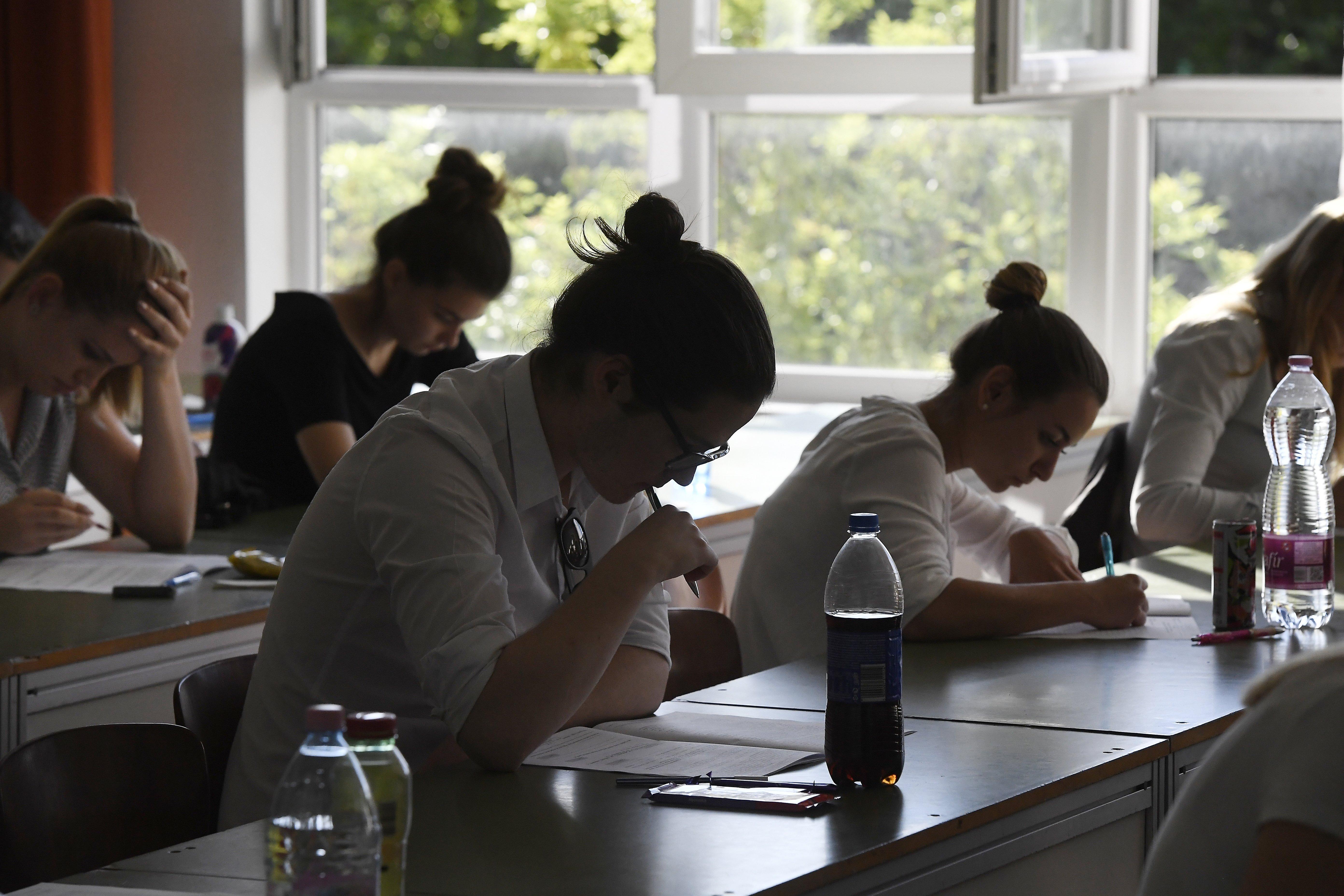Hőségben rosszabbul teljesítenek a diákok