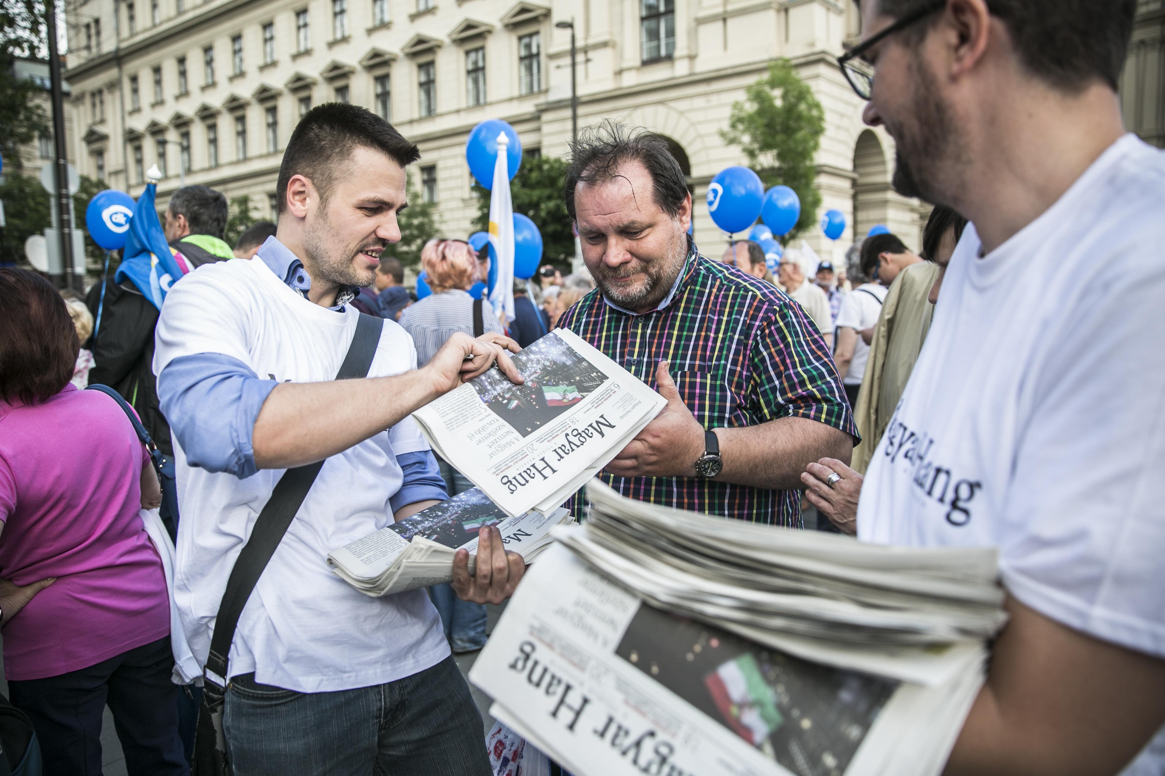 Magyar nyomda nem vállalta, így Pozsonyban készül a Magyar Hang