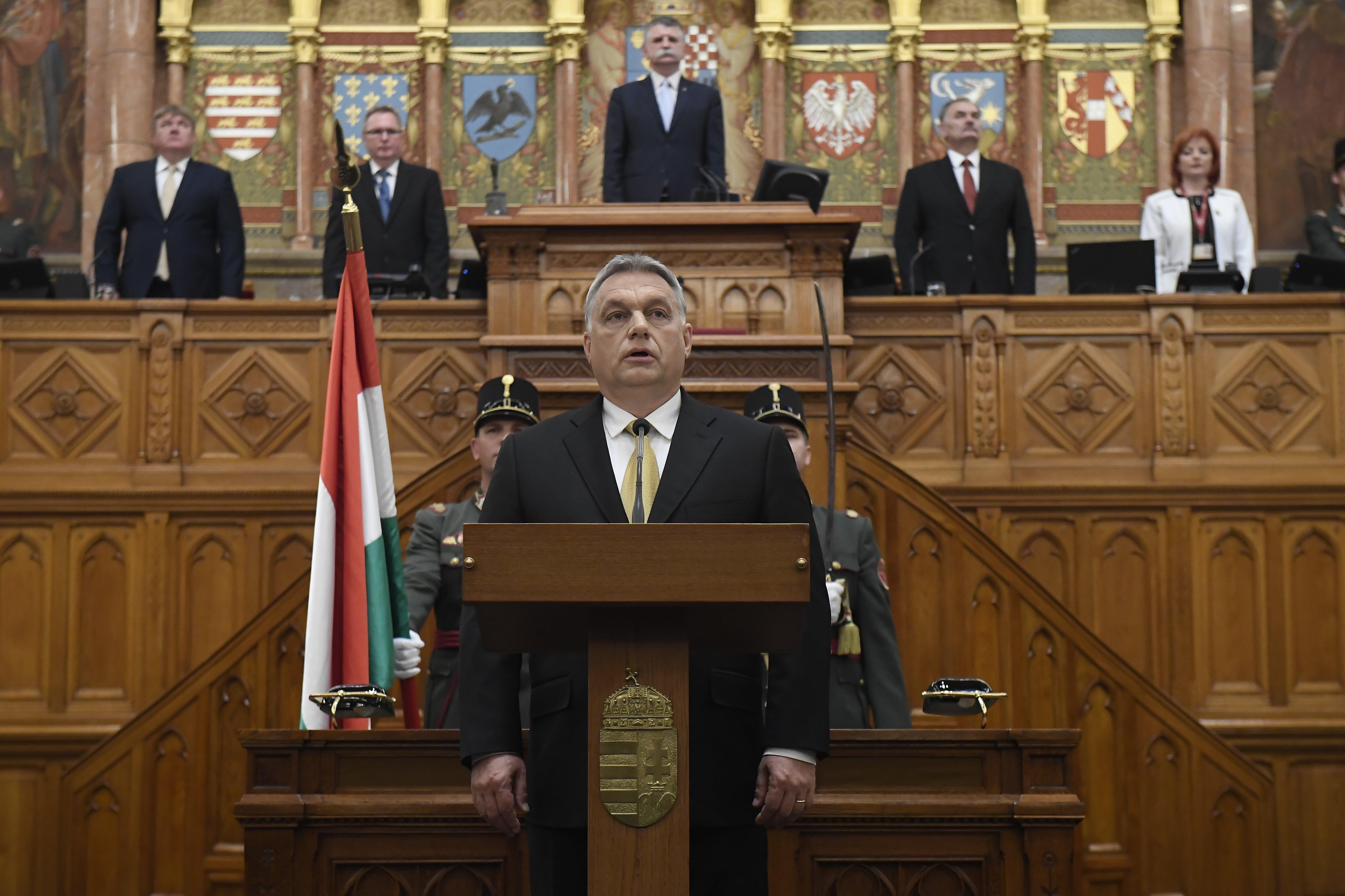 """Orbán szerint mi """"egyedi fajta vagyunk"""", akik többet adtak a világnak, mint amennyit kaptak tőle"""