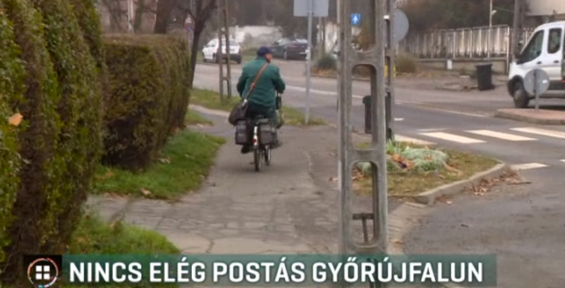 Győrújfalun olyannyira nincs postás, hogy az önkormányzatnak kellett kivinnie a leveleket