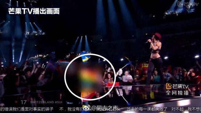 Kínában nem közvetíthetik tovább a Eurovíziós Dalfesztivált, mert kicenzúrázták a szivárványos zászlókat az elődöntőben