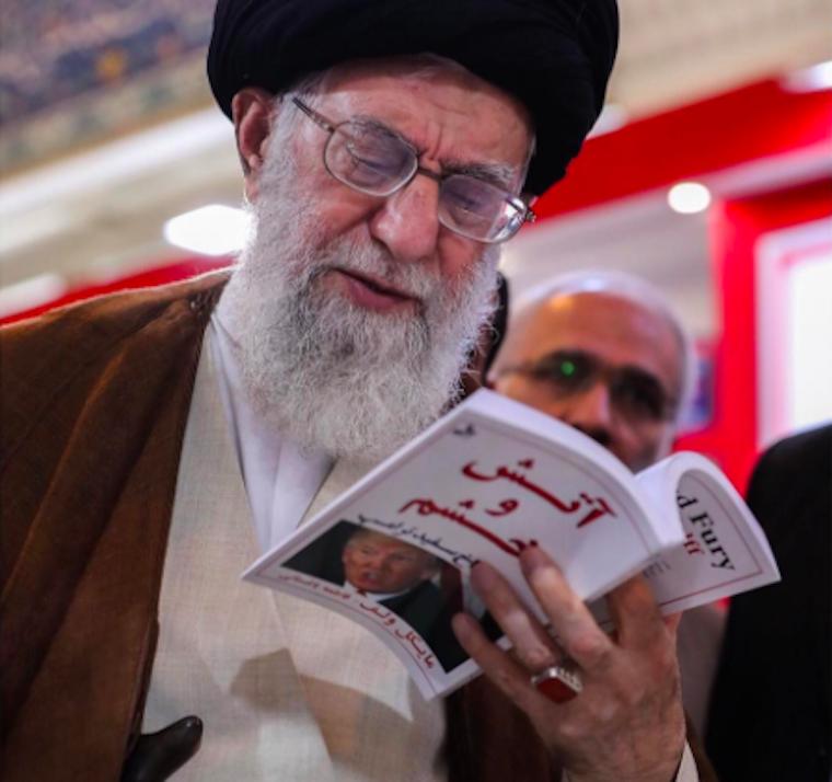 Irán vallási vezetője az Instagramon trolkodott Trumppal