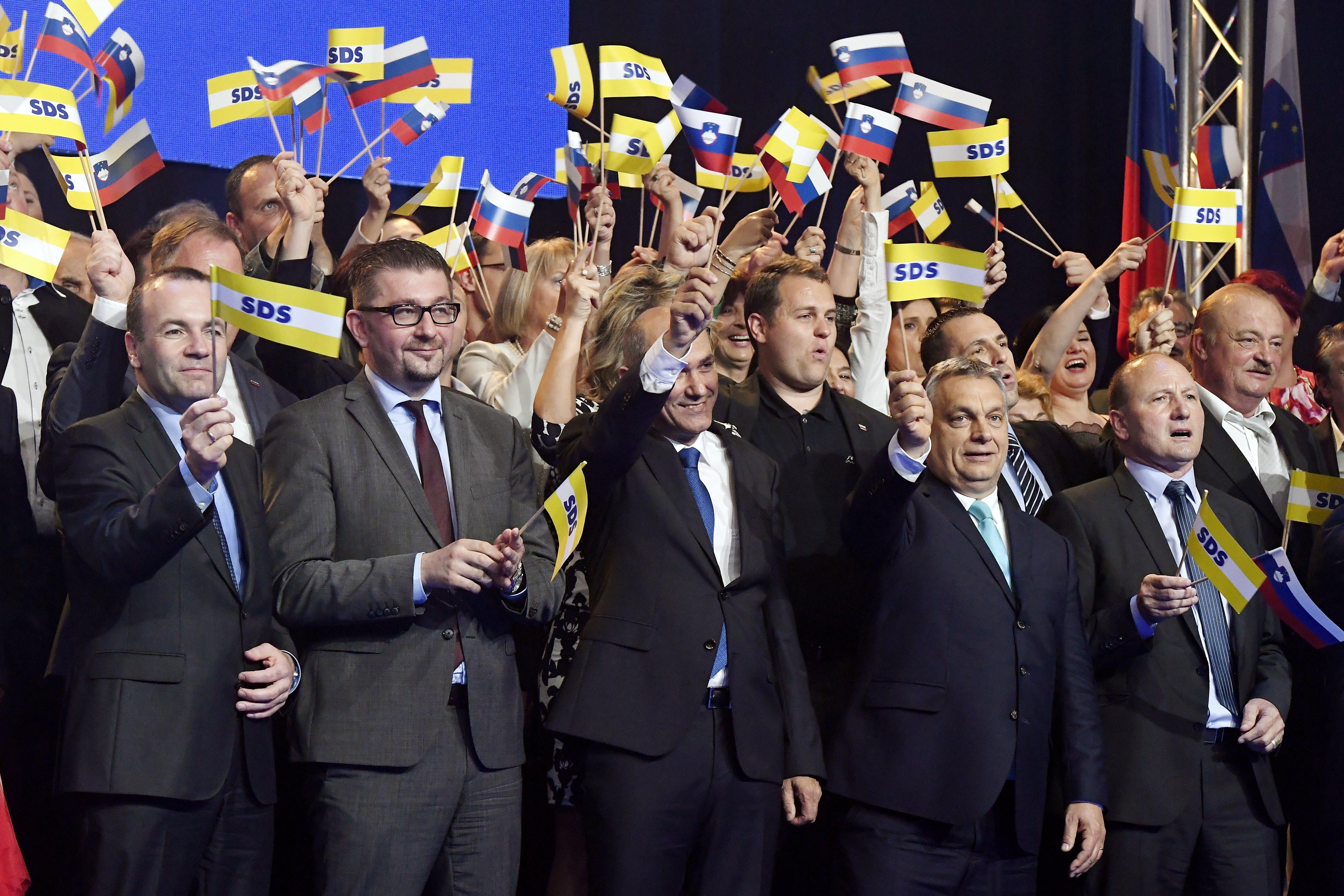 Orbán szlovén szövetségese otthagyja a Néppártot, ha kizárják a Fideszt