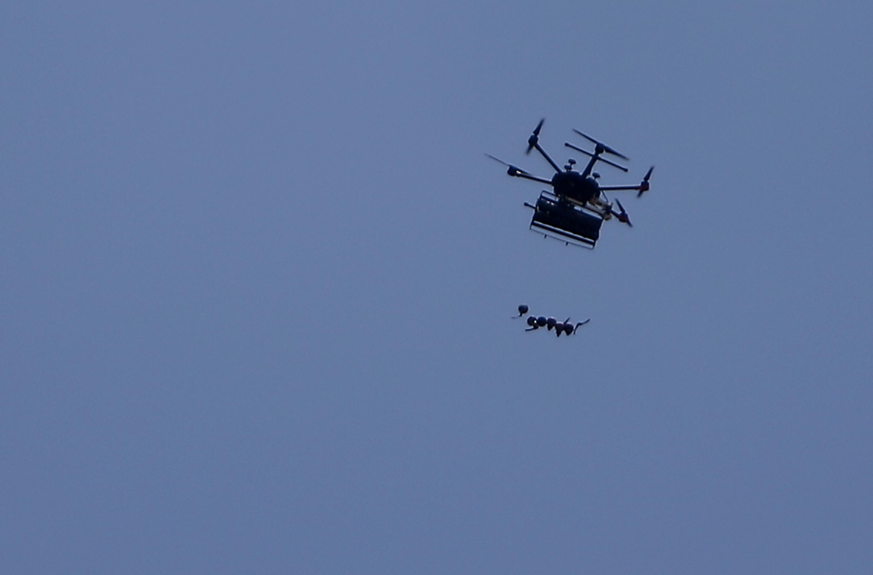 Mexikói drogkartellek robbanószerrel megpakolt drónokkal támadtak biztonságiakra