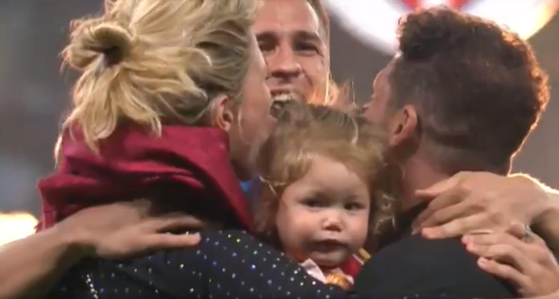Nem az Atlético Madrid, hanem Simeone mester lassított felvételen ugráló kislánya nyerte meg az Európa Liga döntőjét