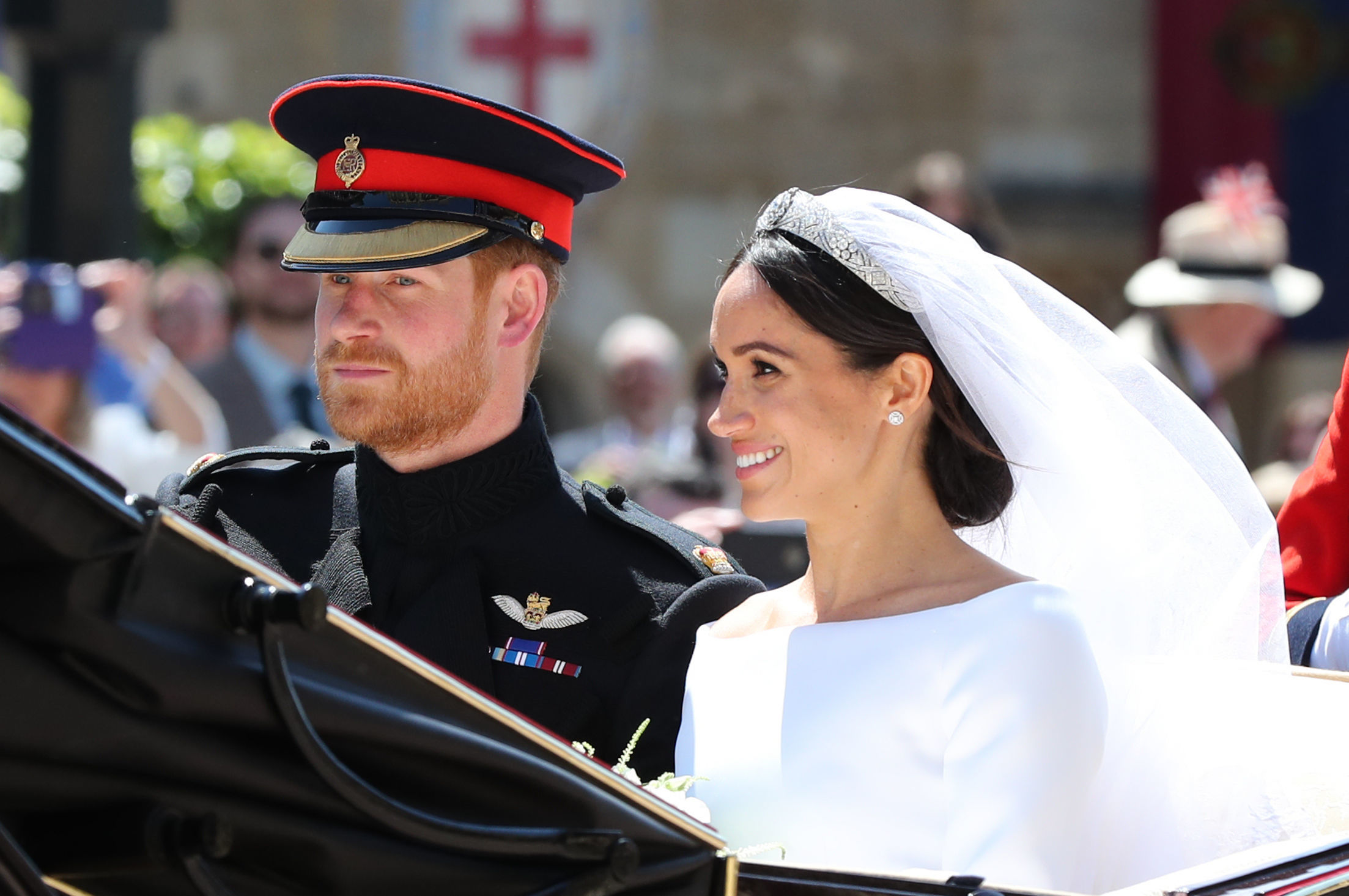 A királyi család nem sajnálta az adófizetők pénzét, hogy világszép legyen az esküvő