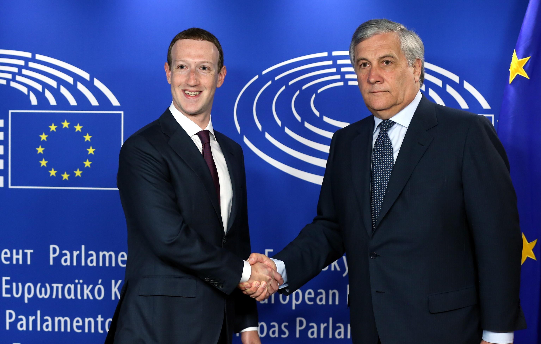Zuckerberg: Bocs, Európa!