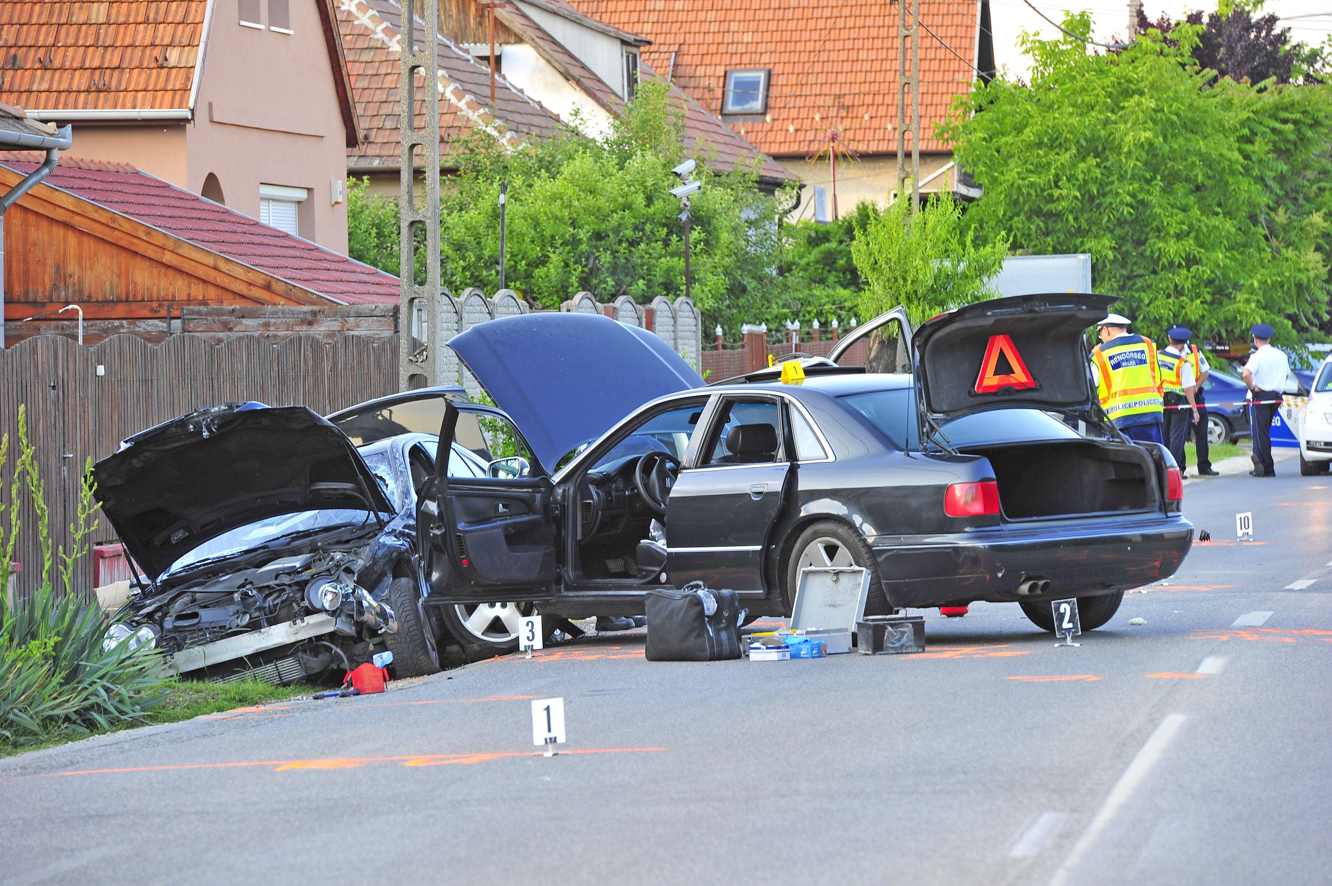Gyáli autós üldözés: gyanús ingatlanügyek állhatnak a háttérben