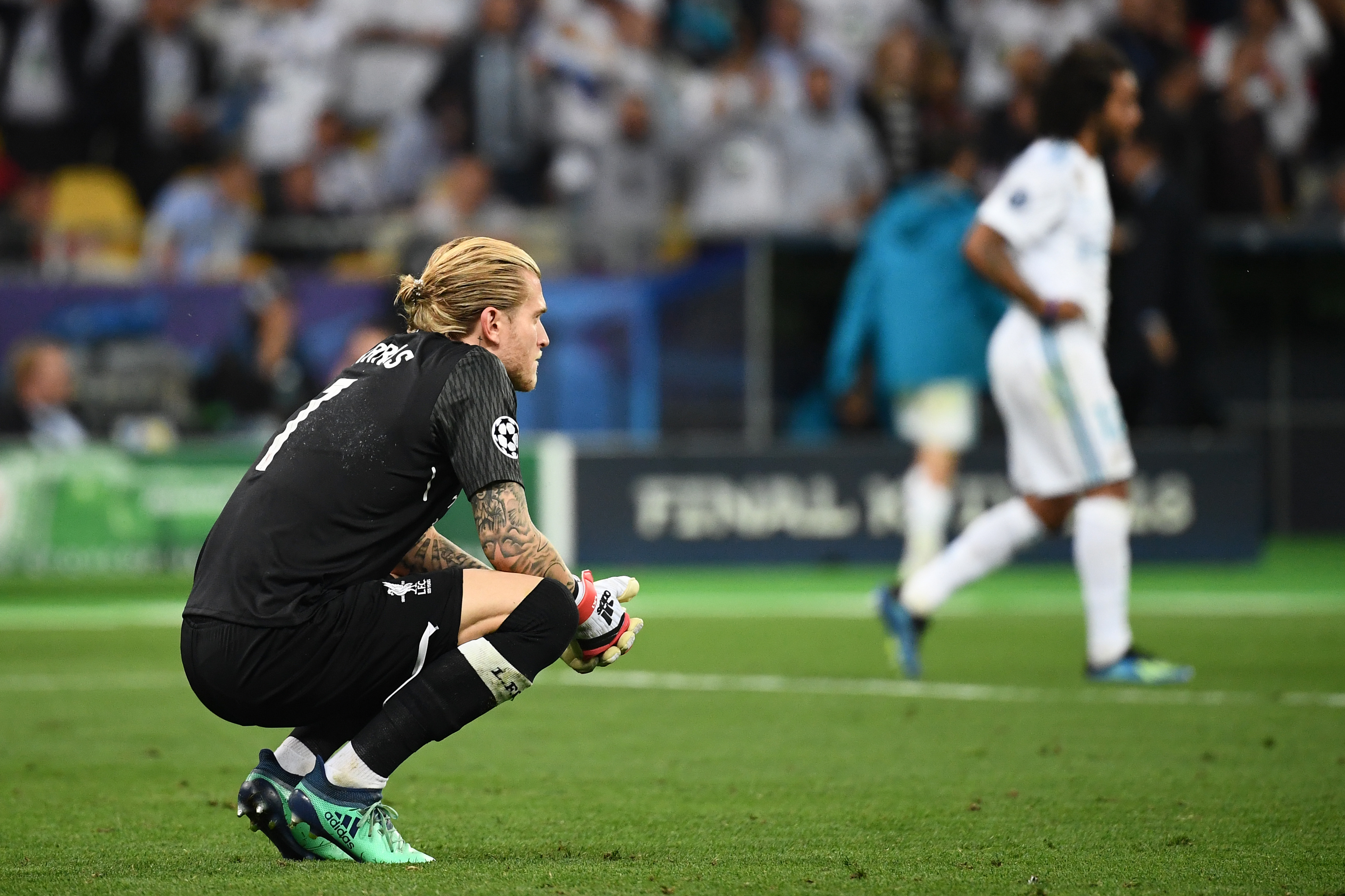 Ramos könyöklésétől lehetett agyrázkódása a később potyagólokat kapó Liverpool-kapusnak