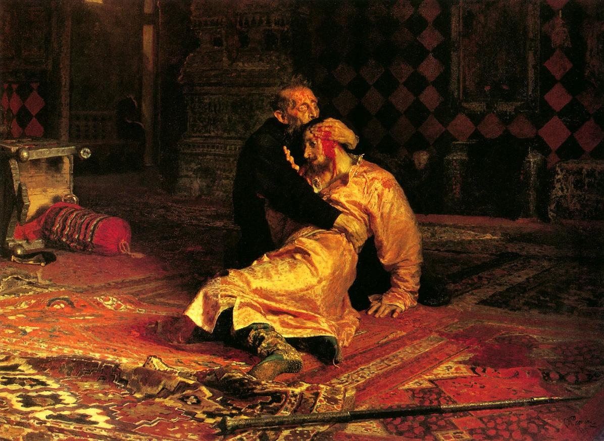 Egy vodkától beindult látogató megrongálta az egyik leghíresebb orosz festményt