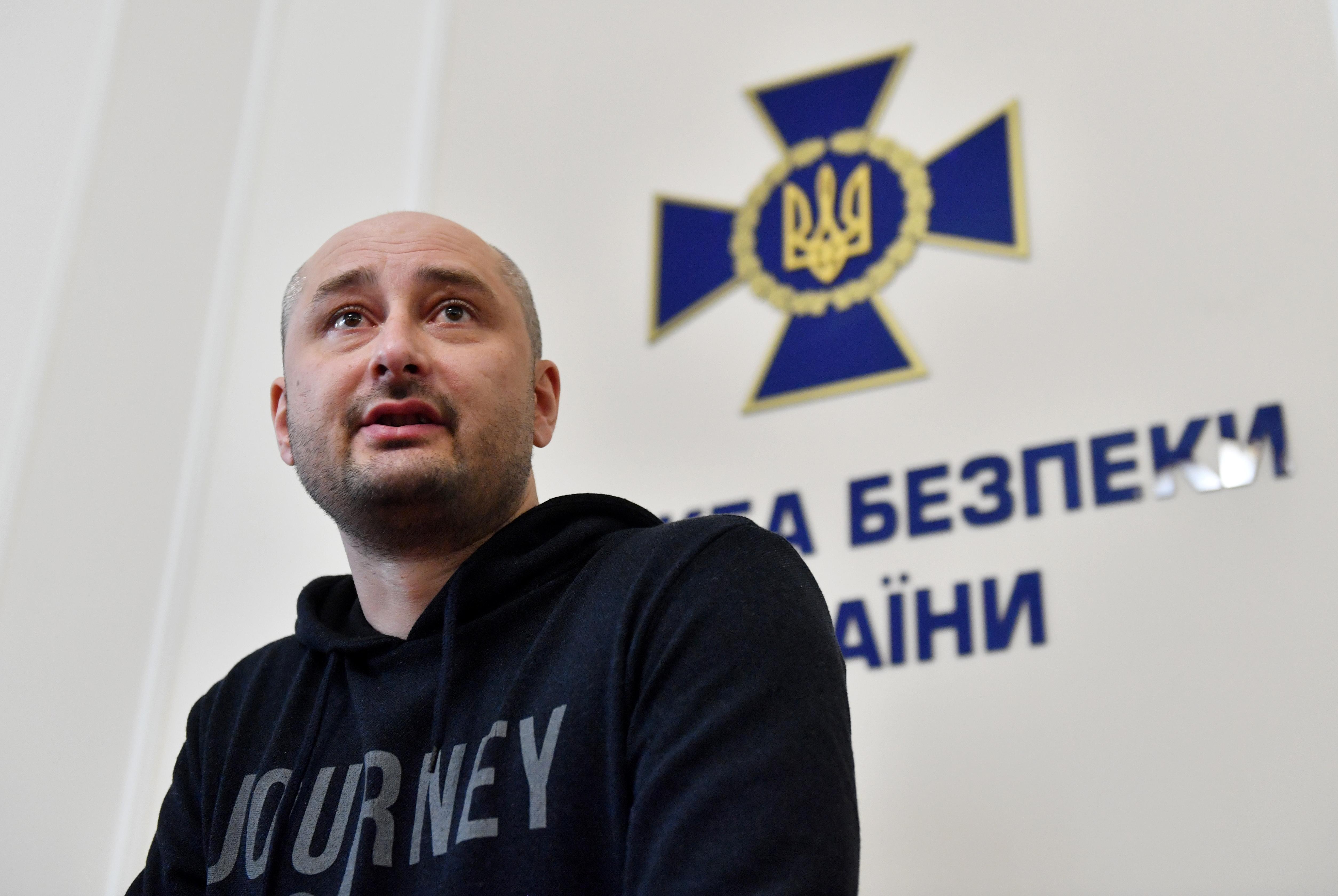 Babcsenko 50 ezer dollárt kér egy exkluzív interjúért