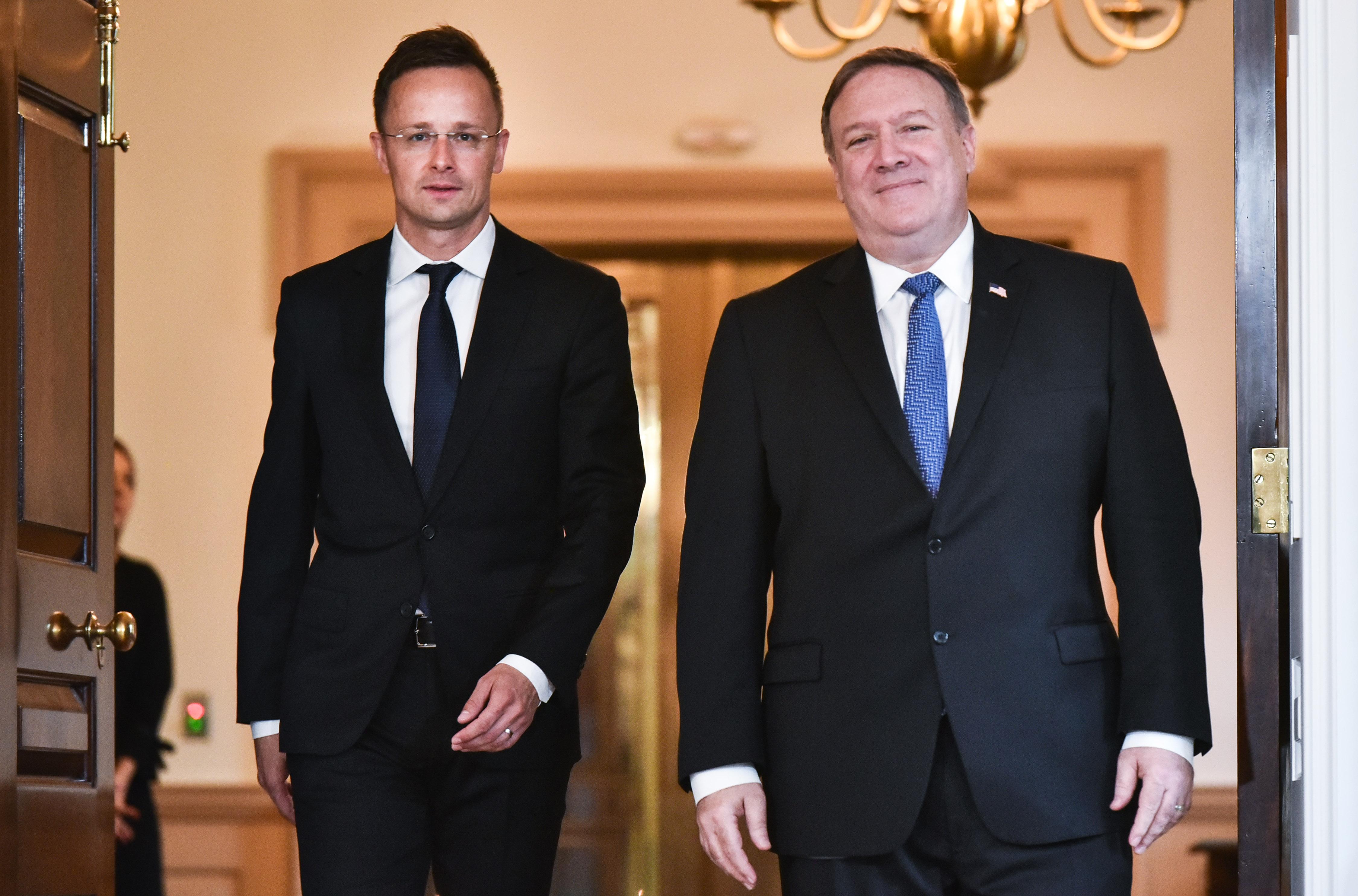 Magyarországra jön az amerikai külügyminiszter