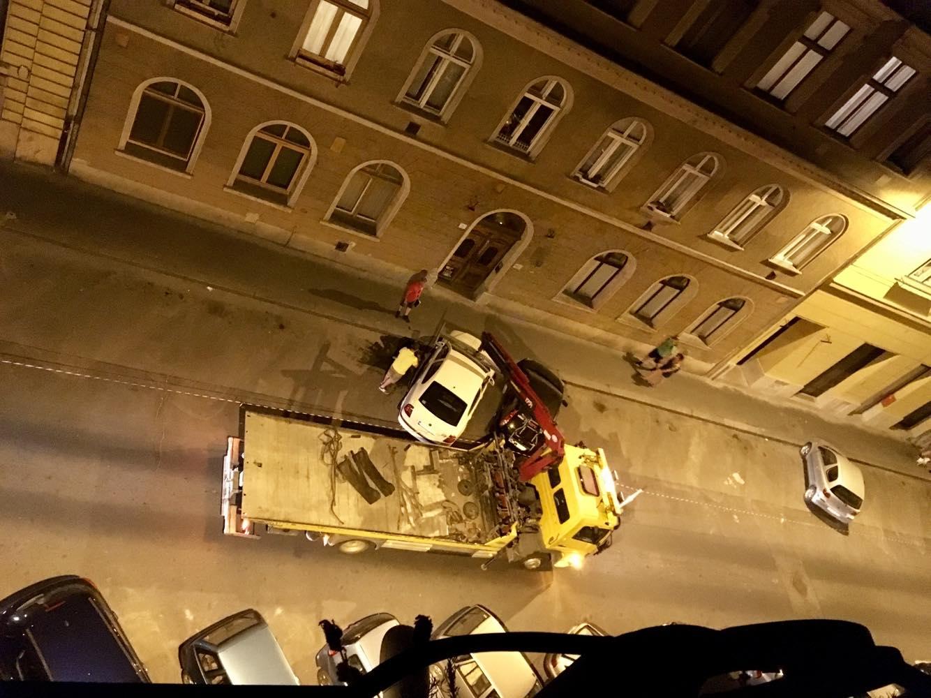 Figyelmeztetés nélkül ürítették ki a ferencvárosi utcákat, egy forgatás miatt