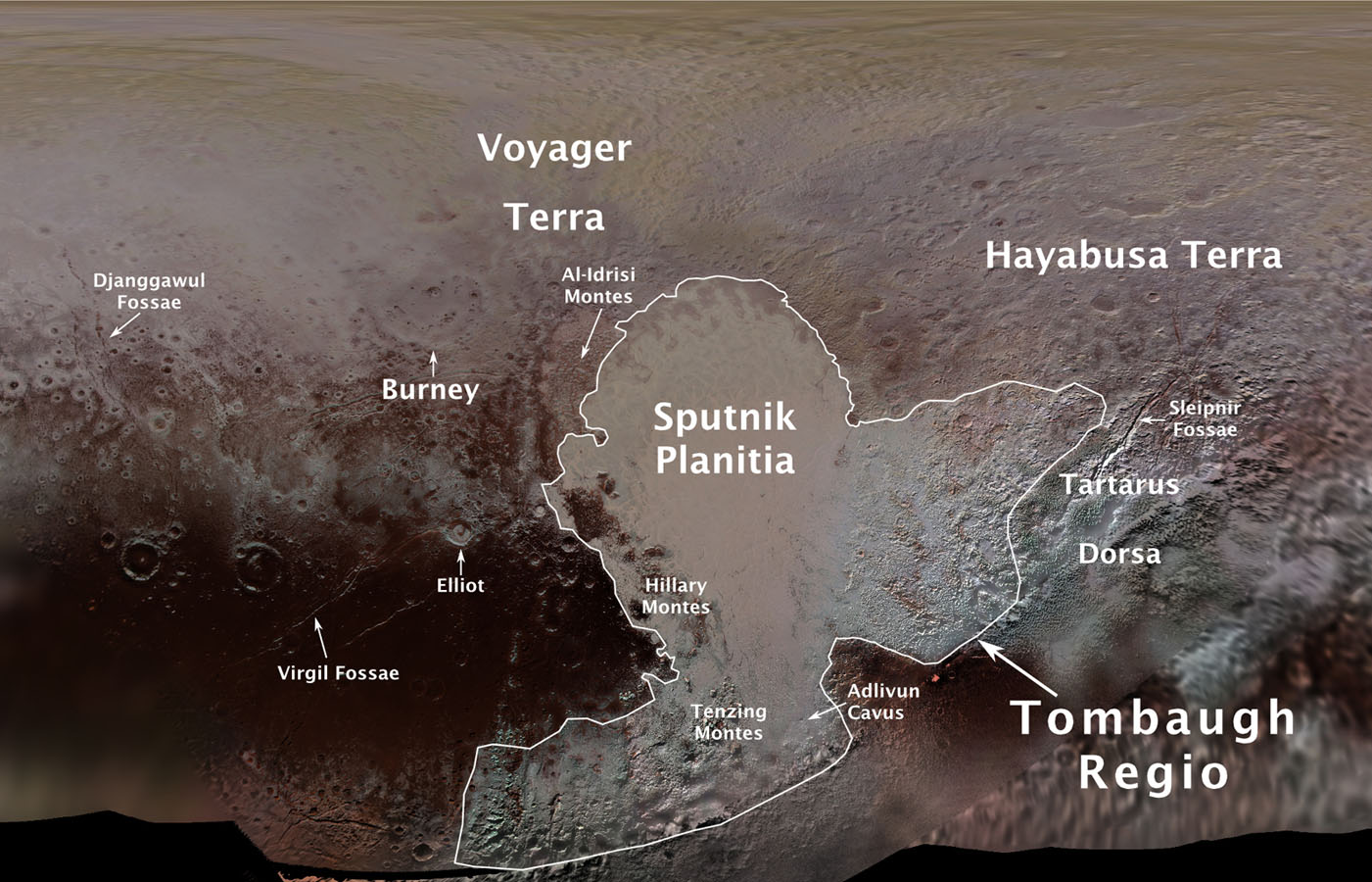 Fagyott metánból álló dűnéket talált a NASA a Plútón