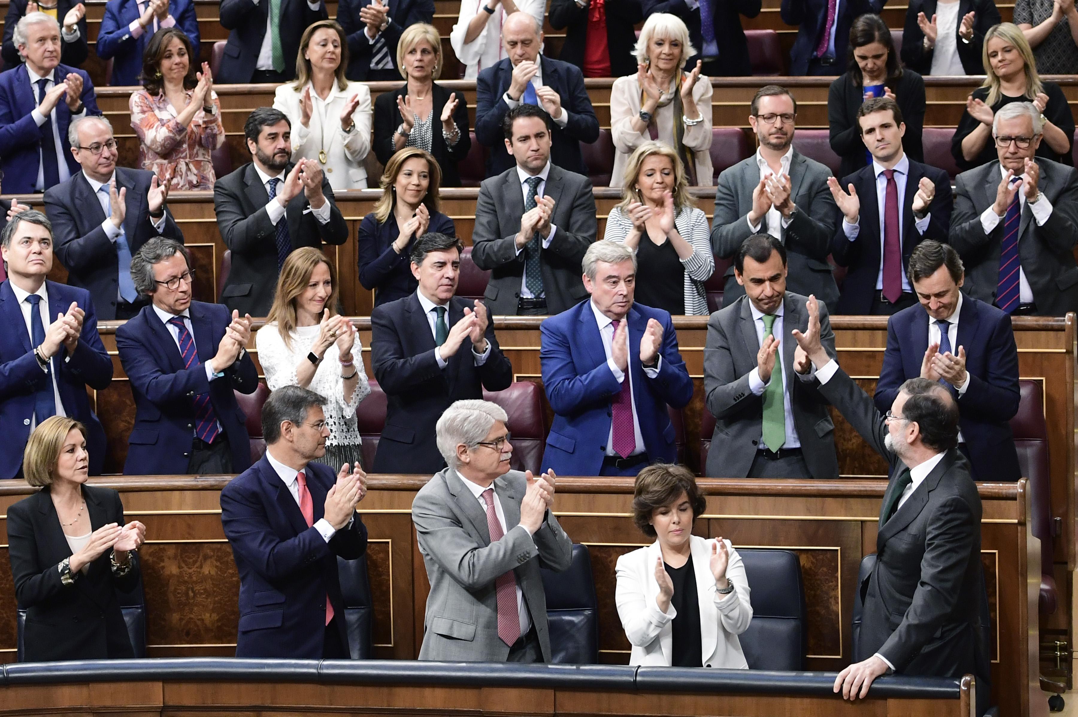 Elismerte bukását Mariano Rajoy