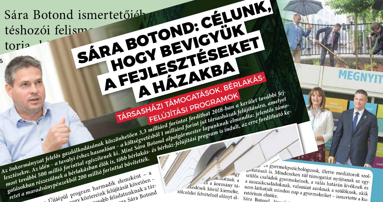 A fideszes jelölt nevét 22-szer, az ellenzékiét egyetlen egyszer sem említi a józsefvárosi önkormányzati hetilap